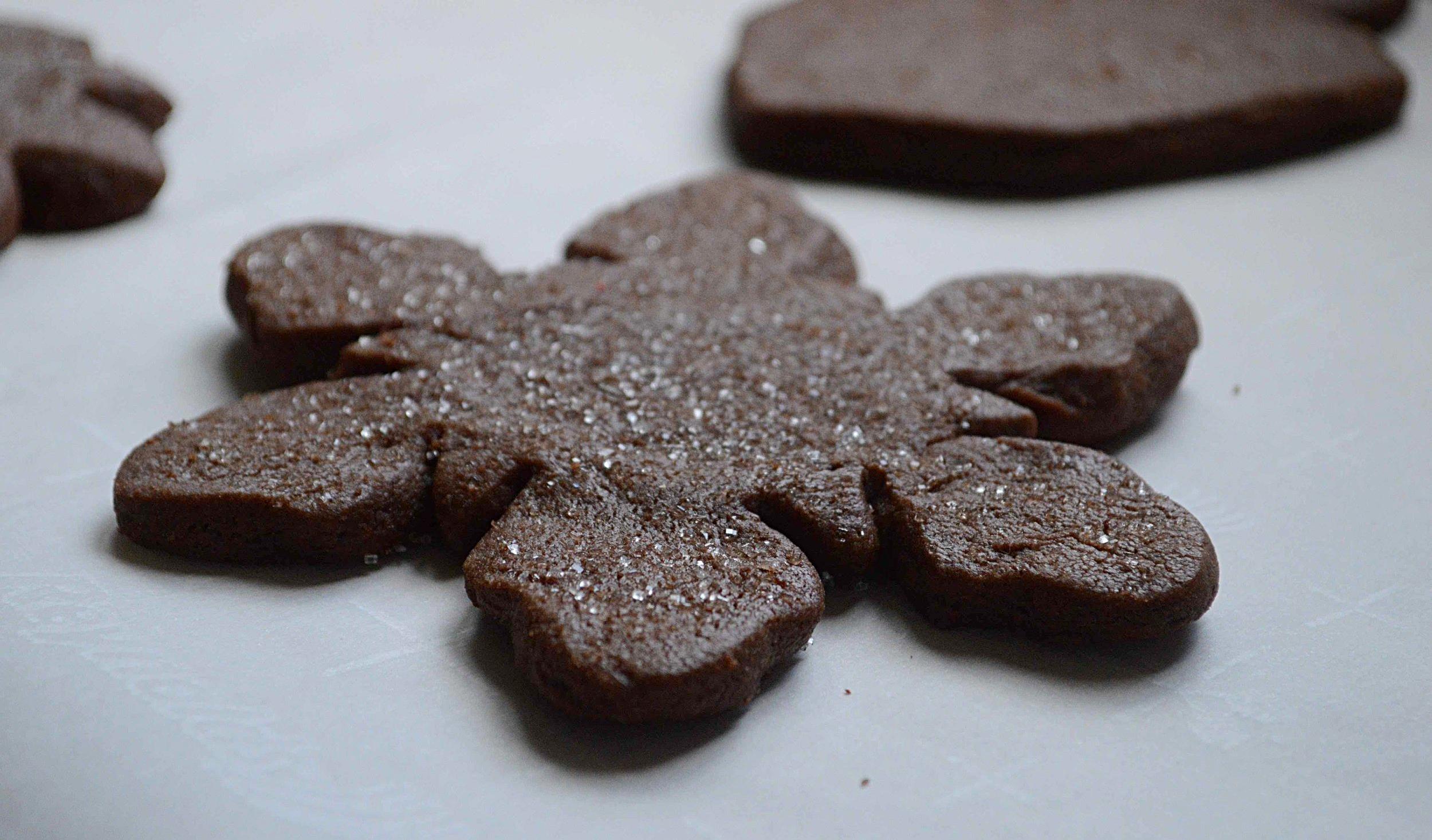 Chocolate Shape Cookies