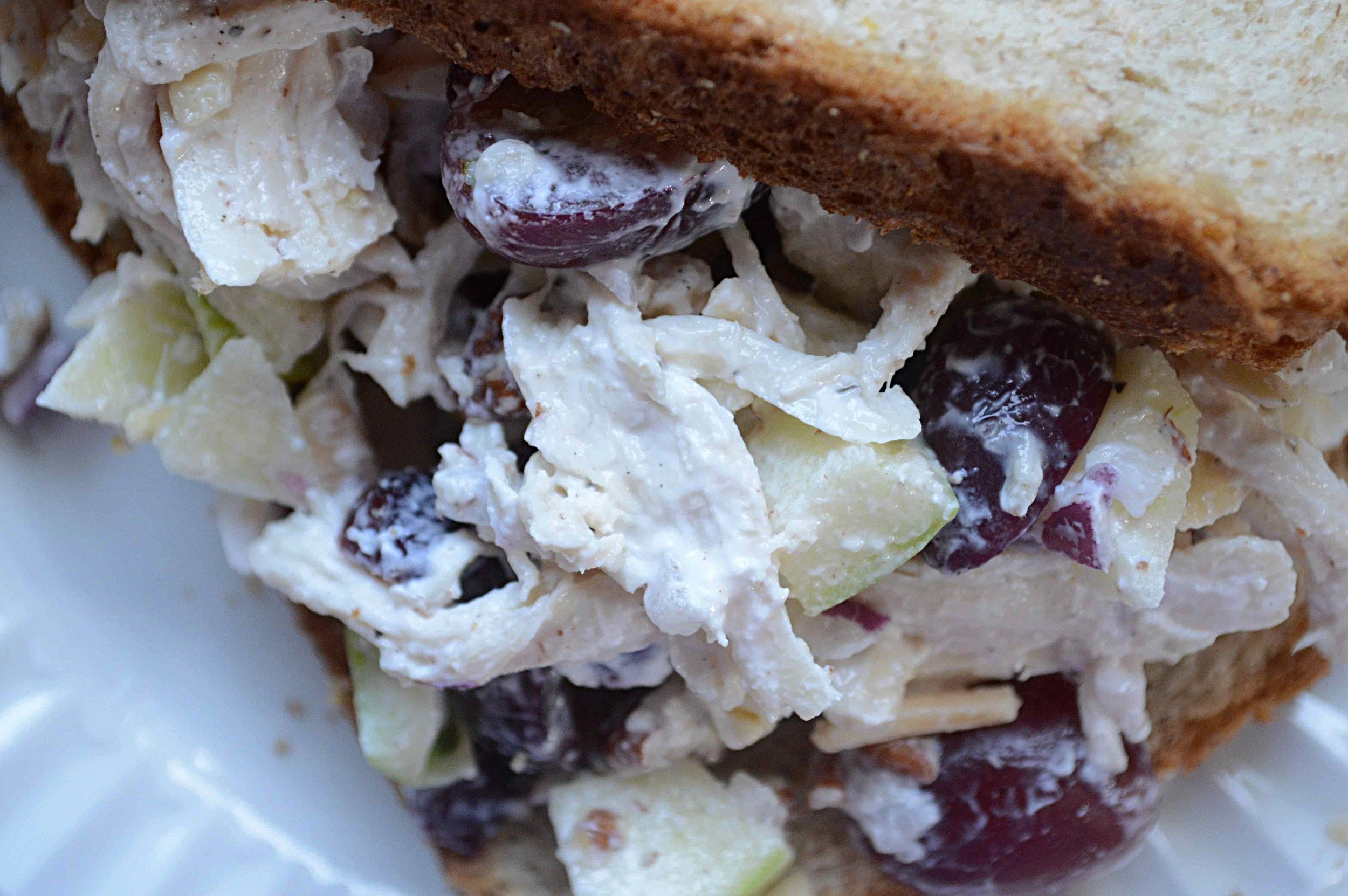 My Favorite Chicken Salad-Lightened Up