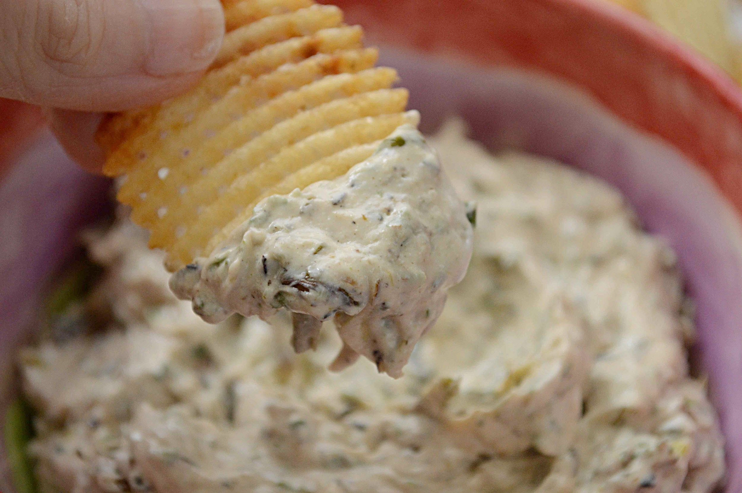 Roasted Scallion Dip
