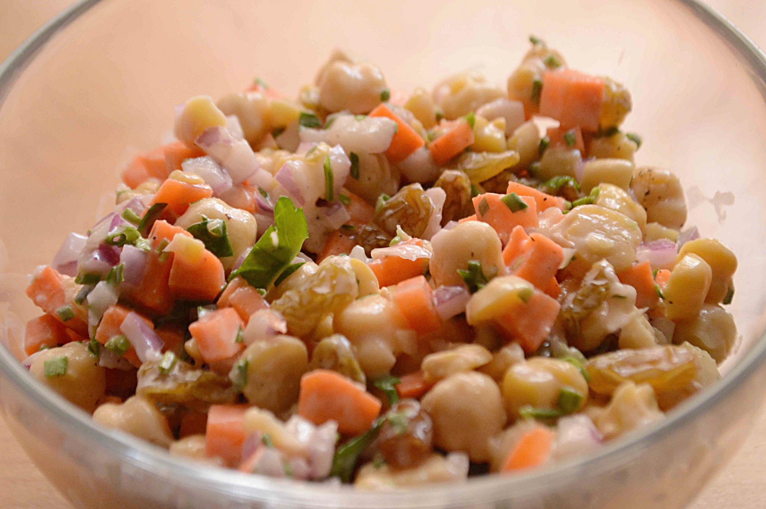 Addictively Good Chickpea Salad