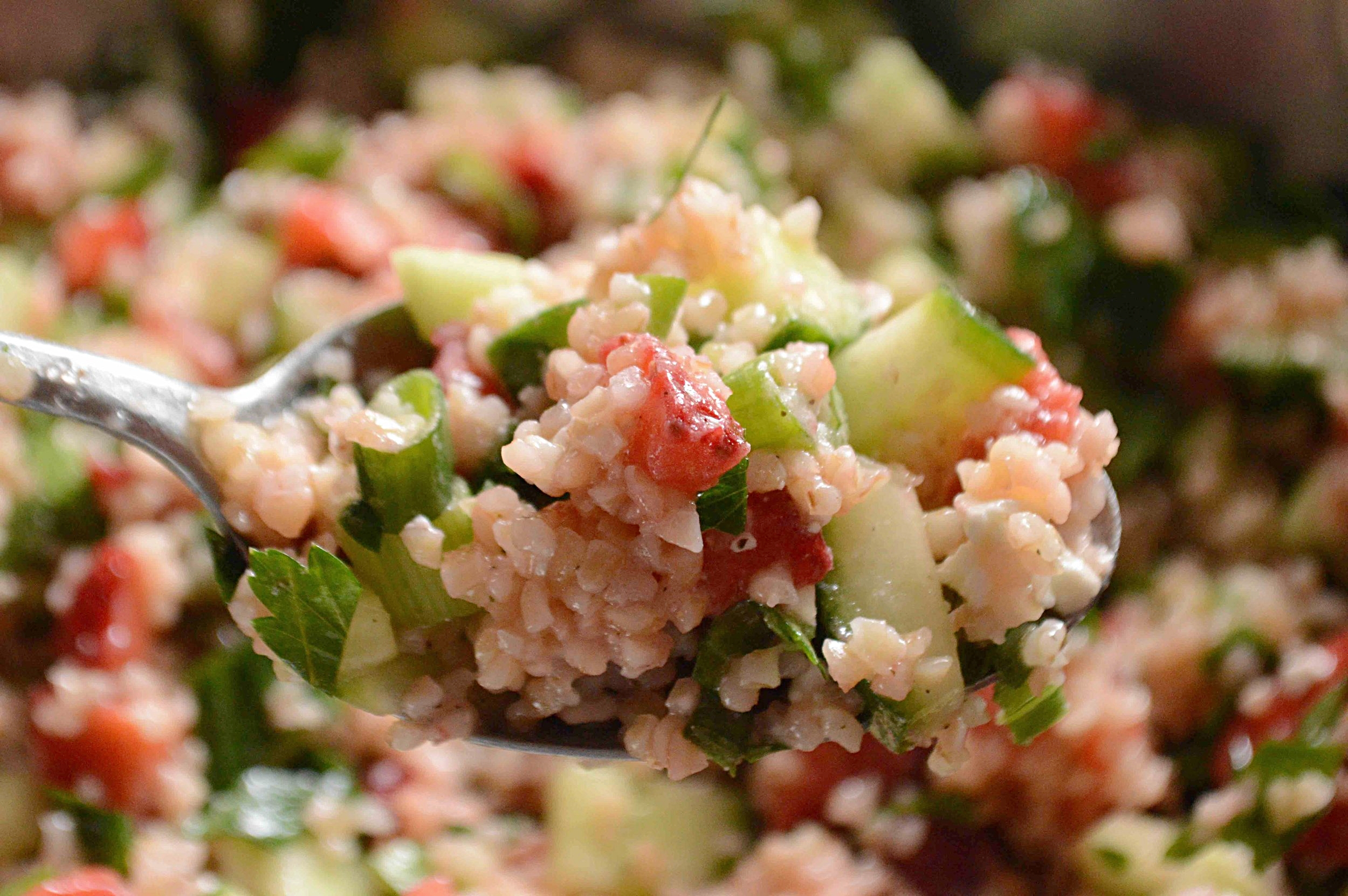 Strawberry Tabbouleh Salad