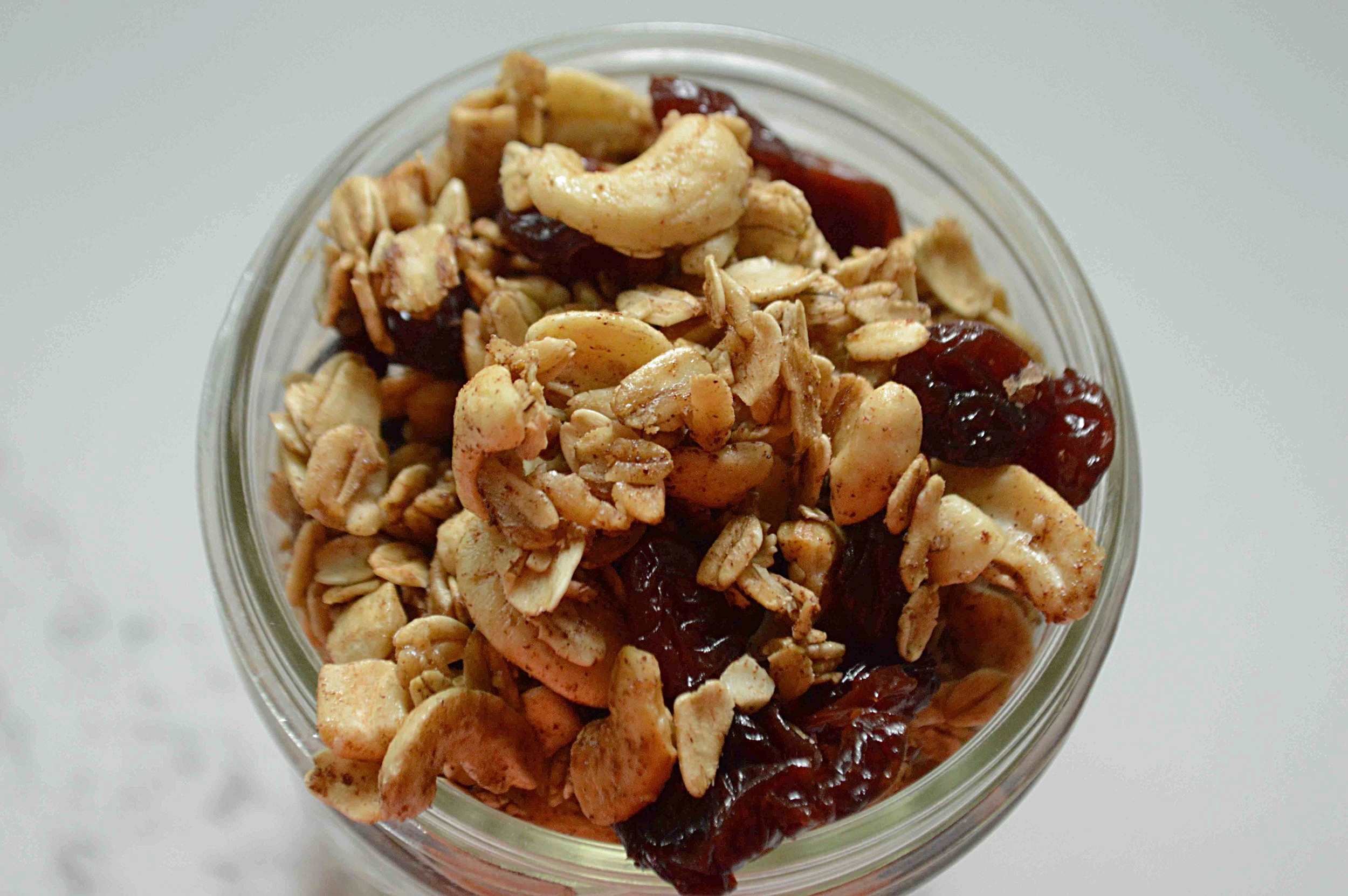 Maple Cherry Granola