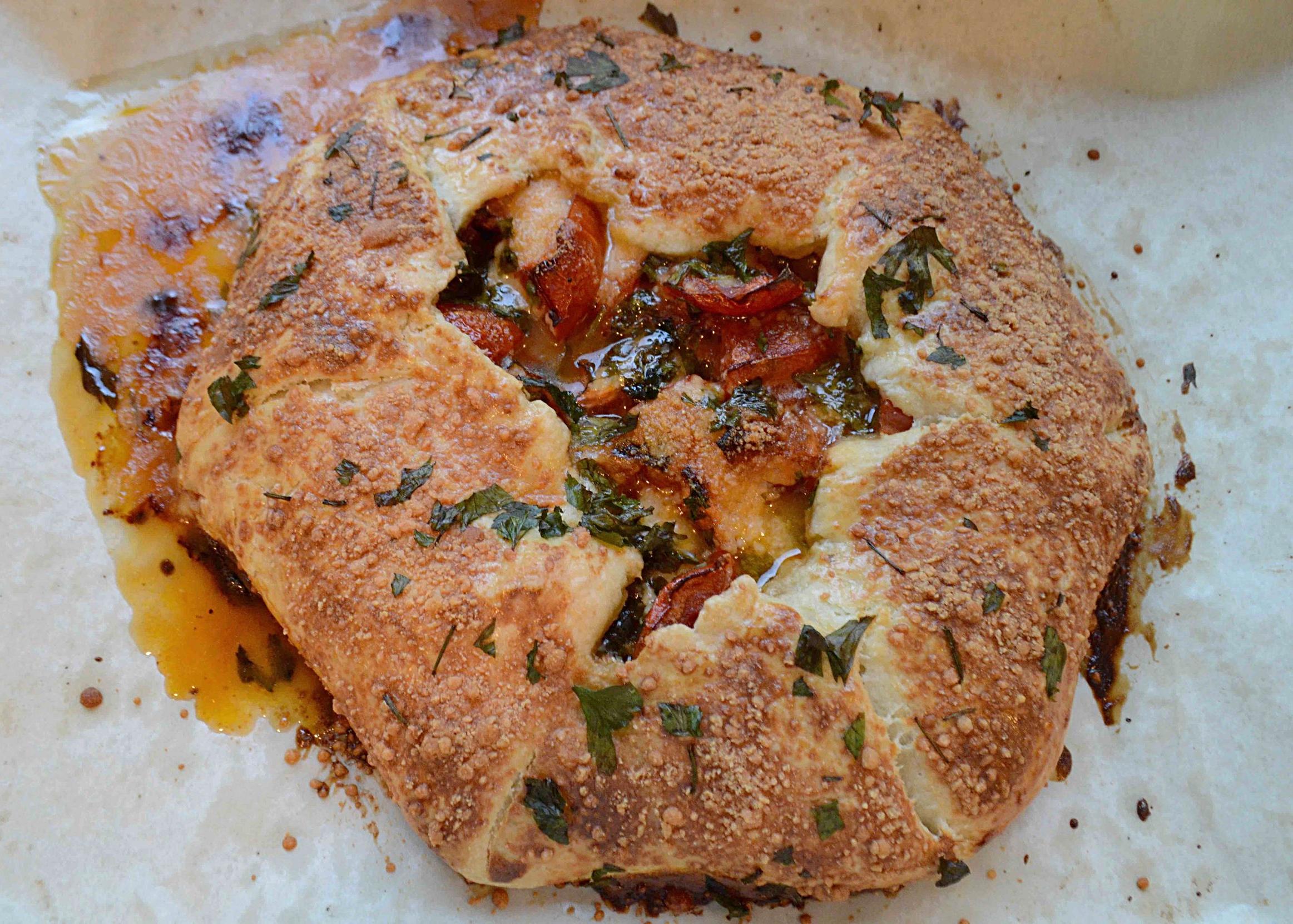 Rustic Roasted Tomato Tart