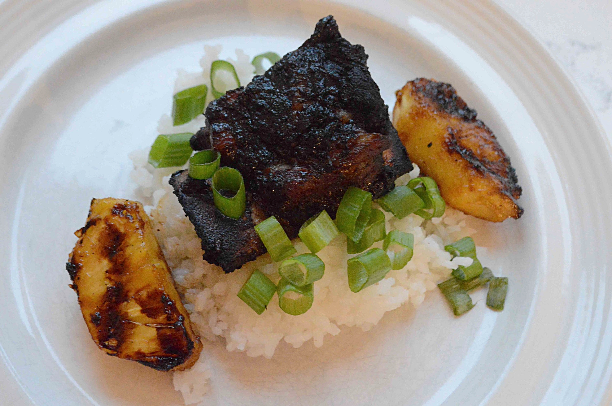 Pineapple Grilled Short Ribs