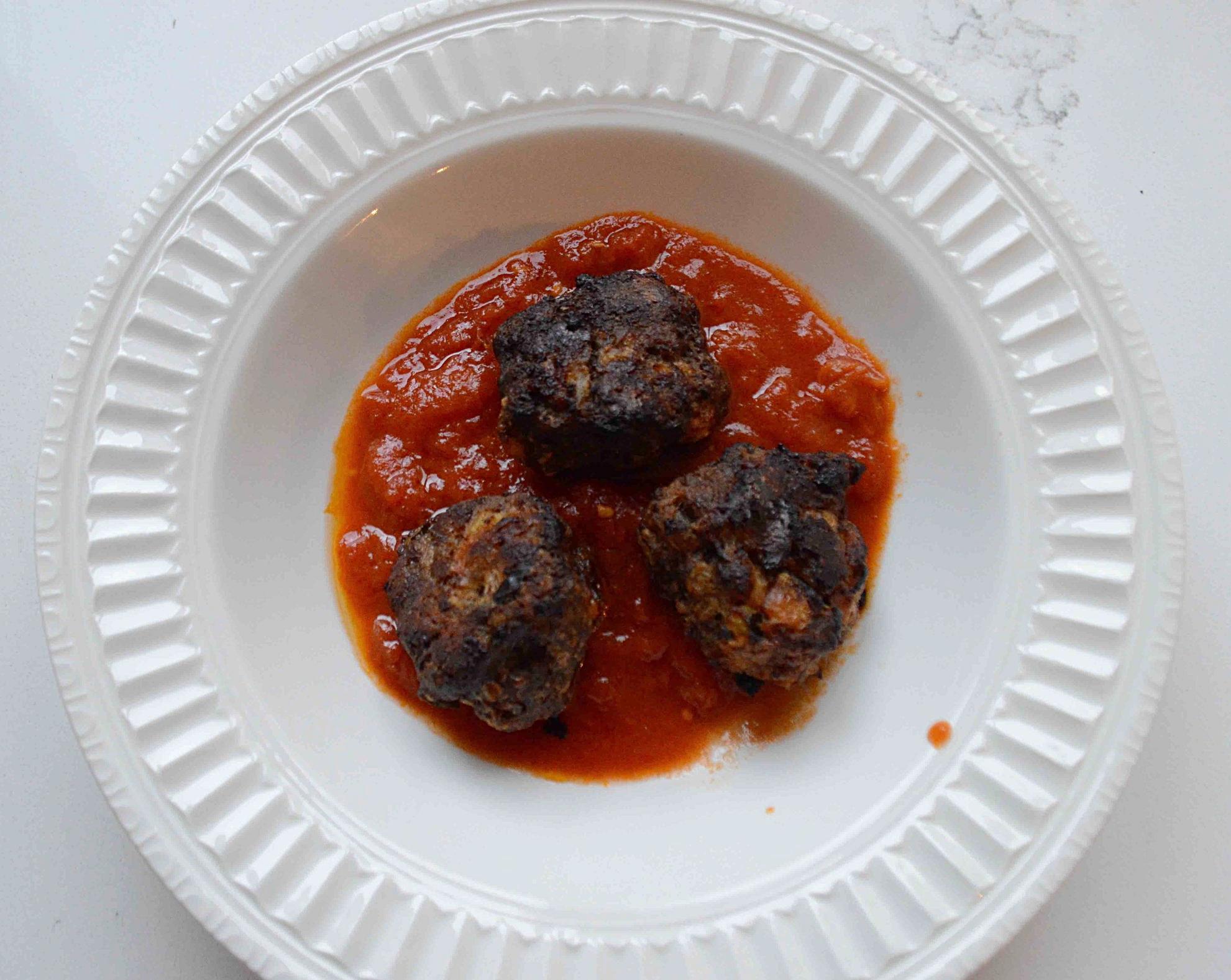 Tomato Zucchini Meatballs