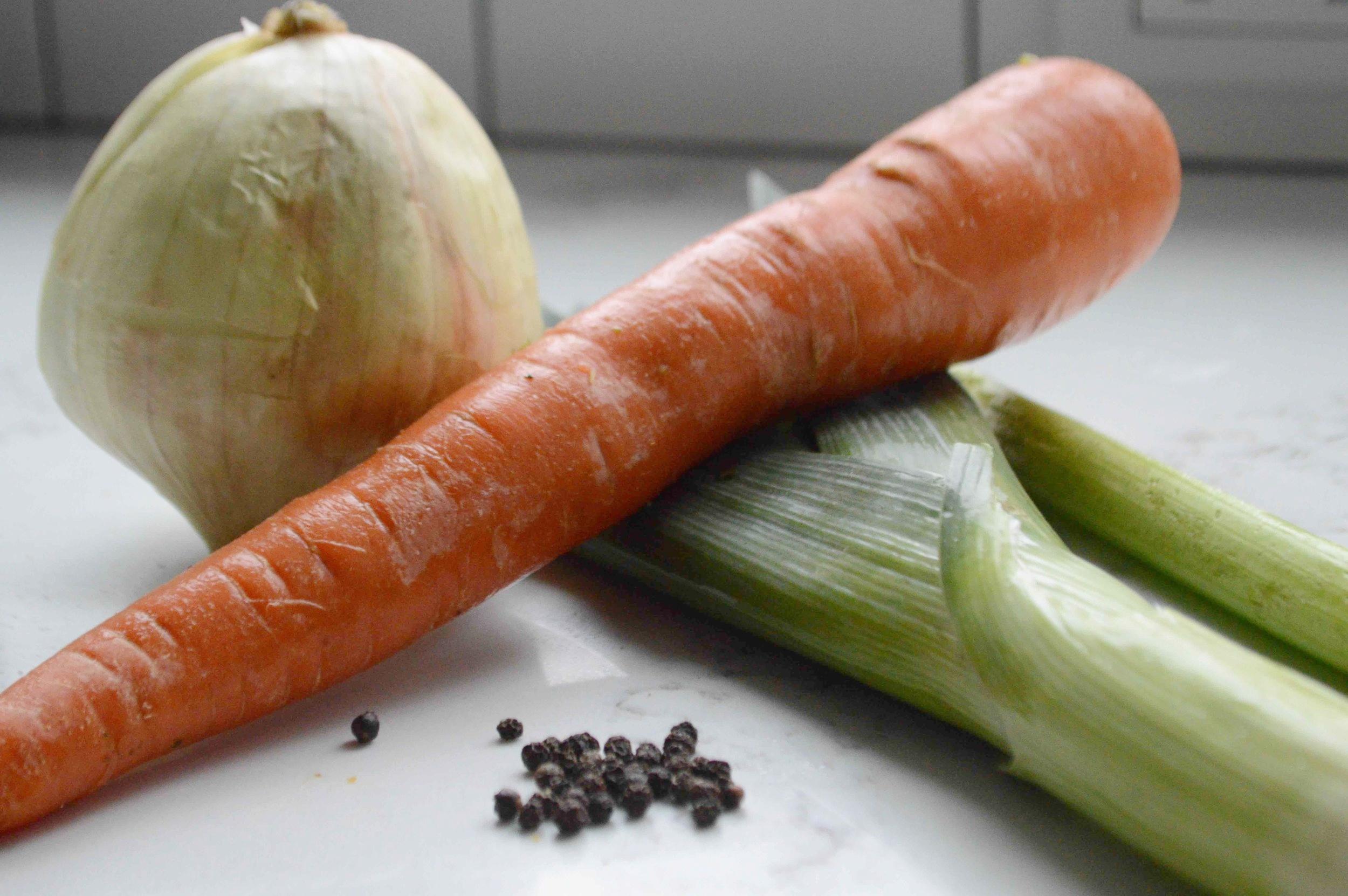 Easy Homemade Vegetable Stock