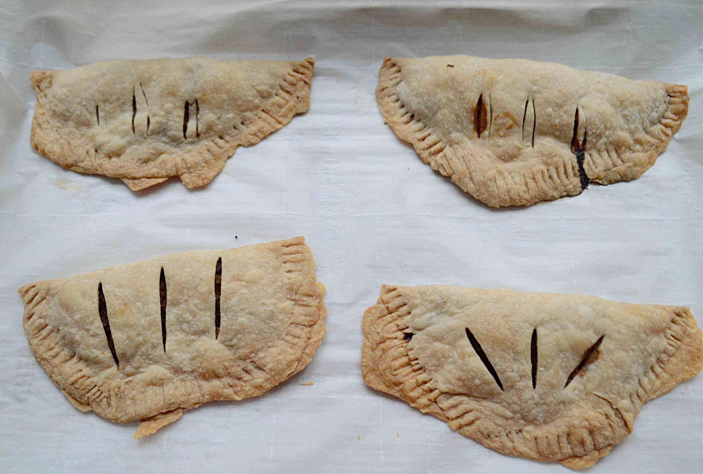 Cabbage and Mushroom Hand Pies