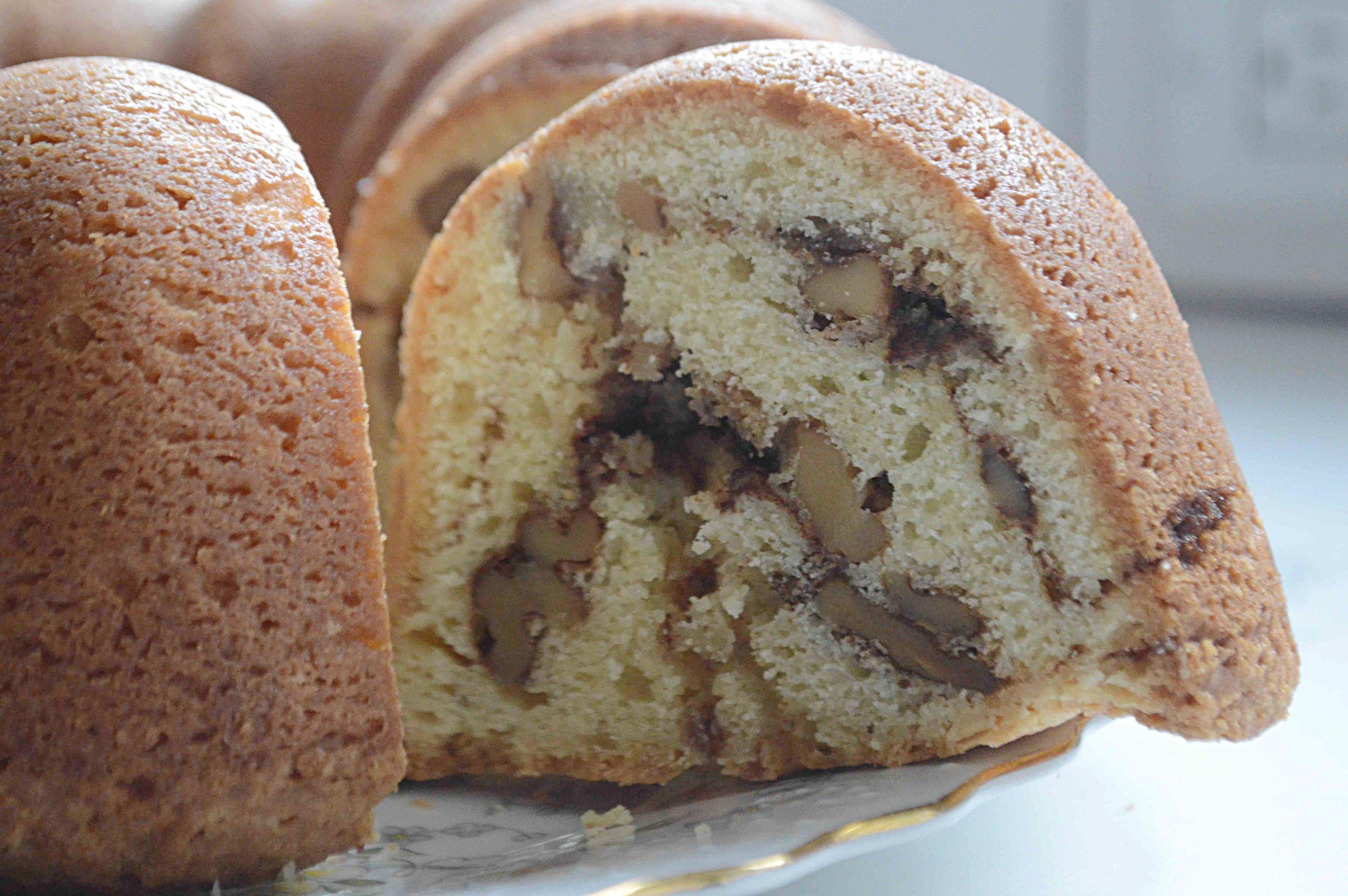 Zingerman's Sour Cream Coffee Cake