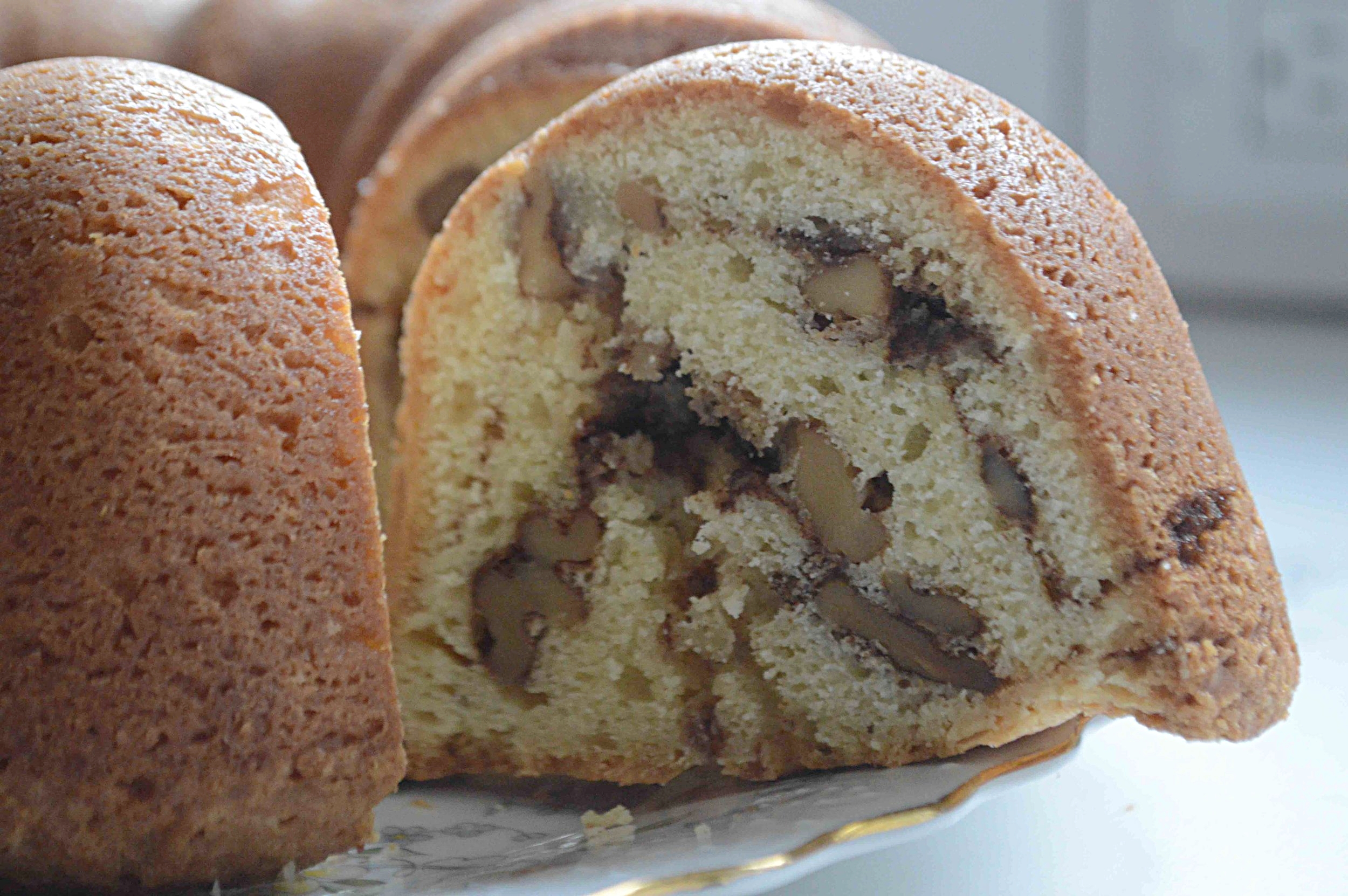 Zingerman S Sour Cream Coffee Cake Famous Fridays Unwritten Recipes