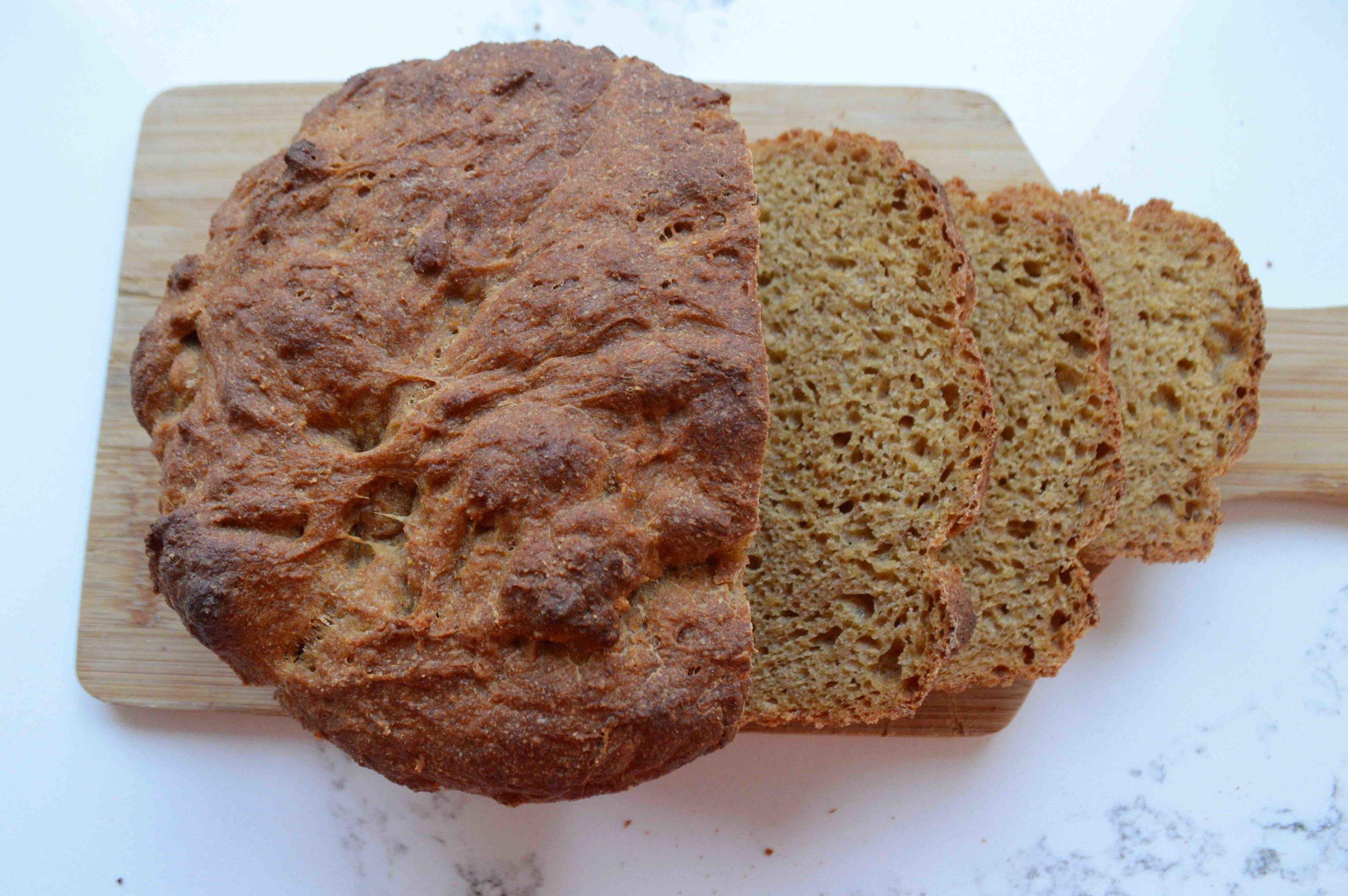 No-Knead Andama Loaves
