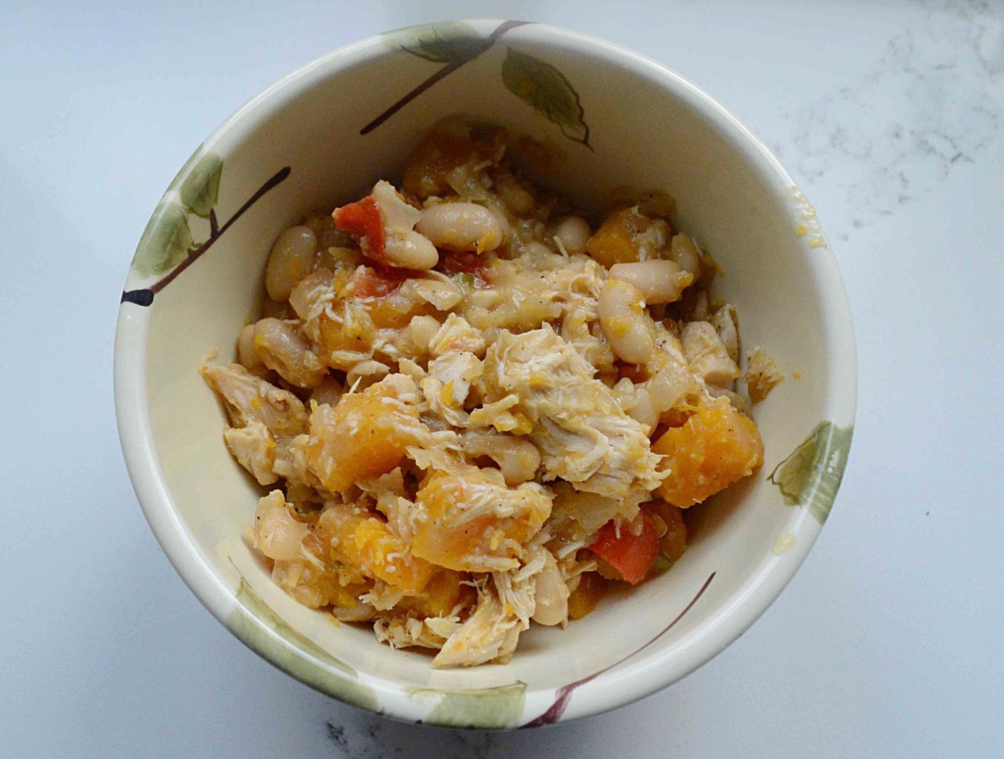 Easy Chicken and Butternut Squash Chili