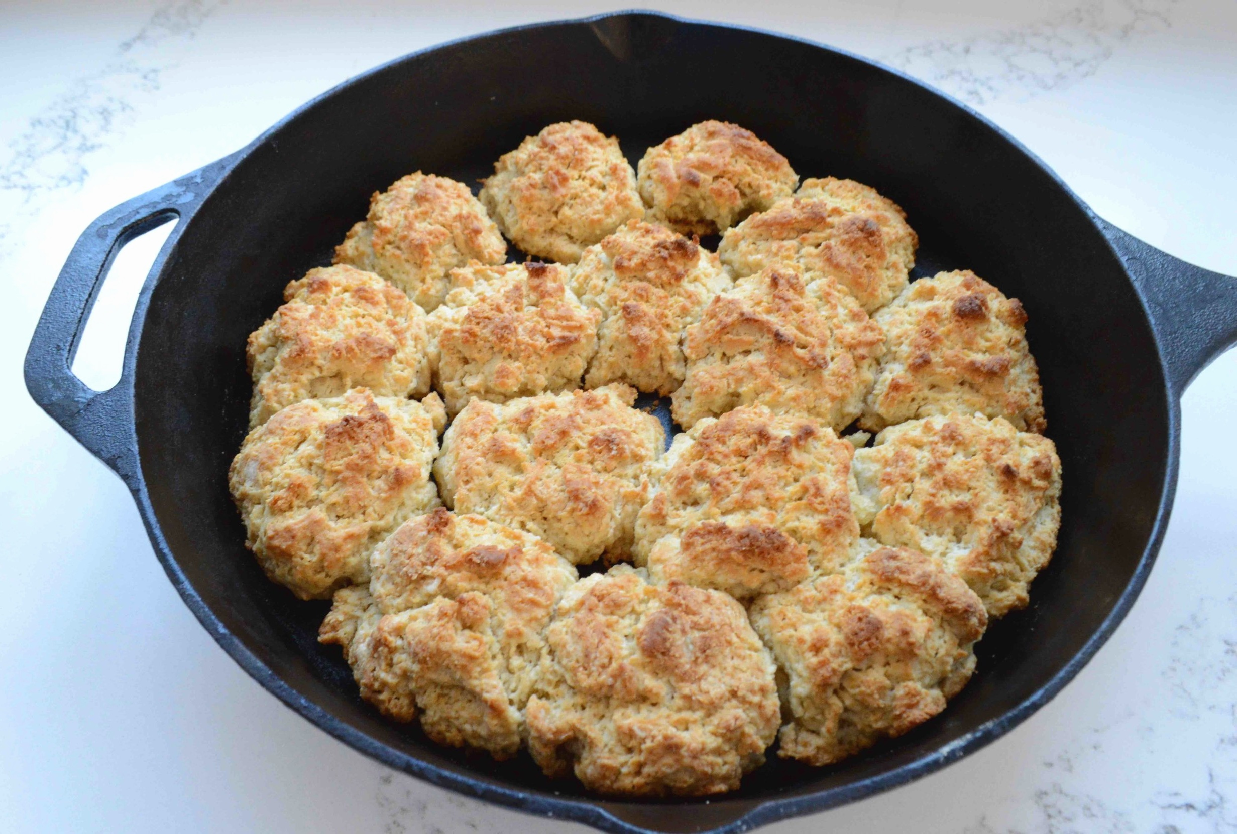 Sorghum Drop Biscuits