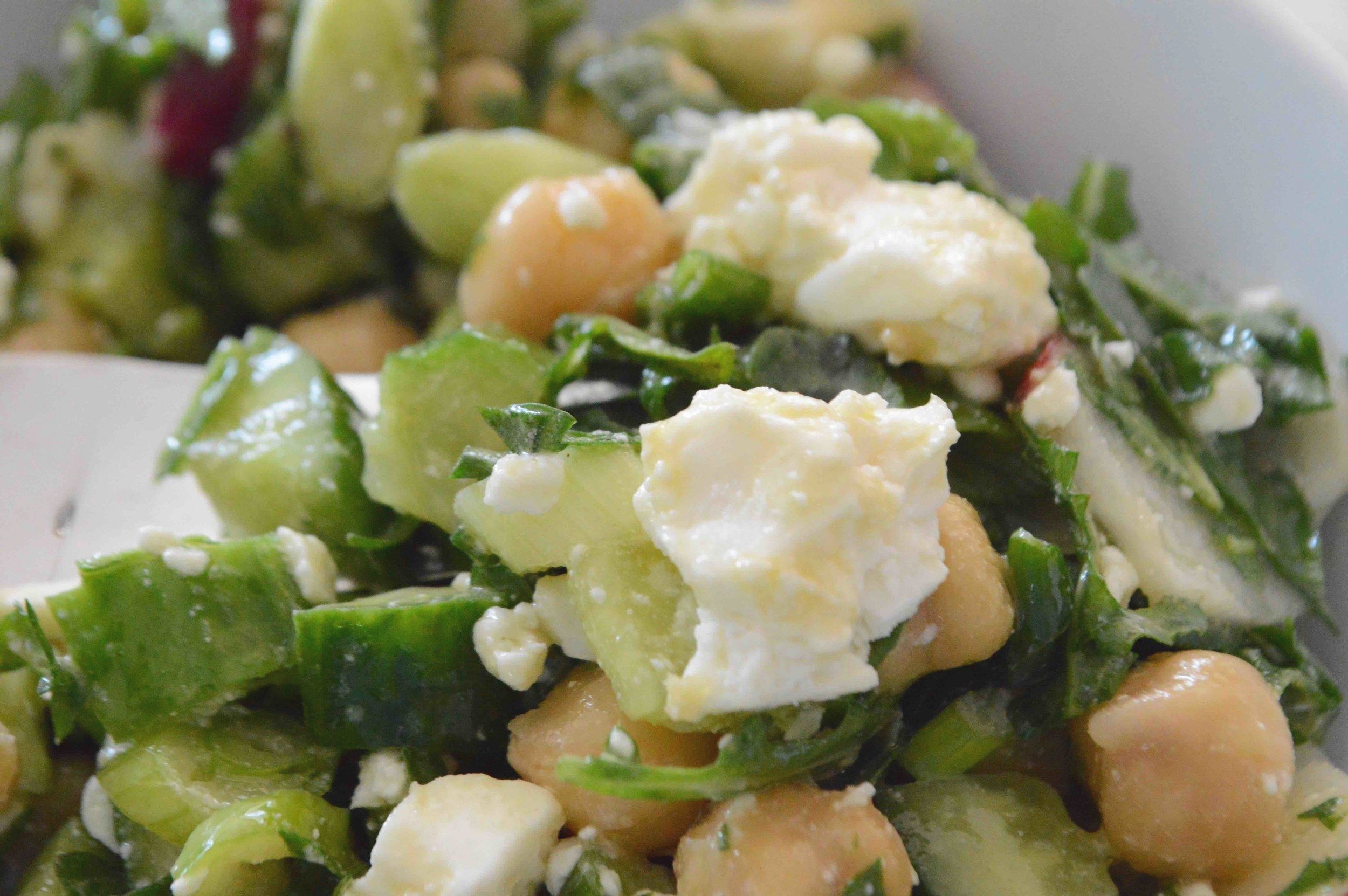 Chickpea+Lunch+Salad