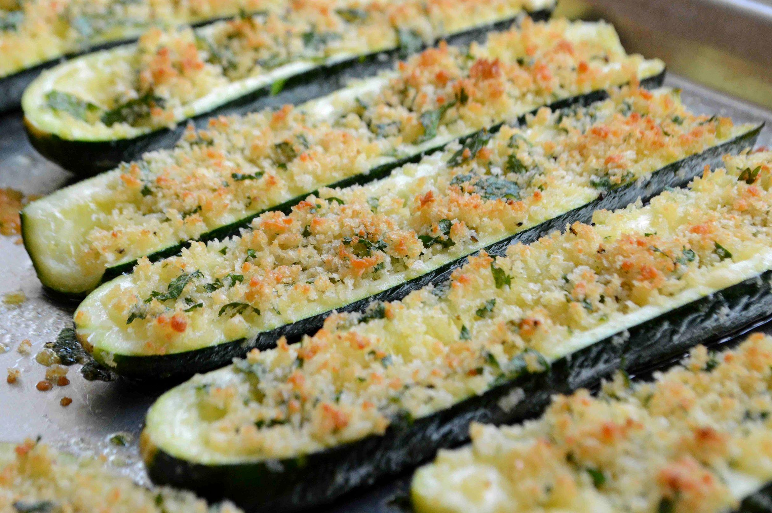 Roasted+Zucchini+Boats-Lightened+Up