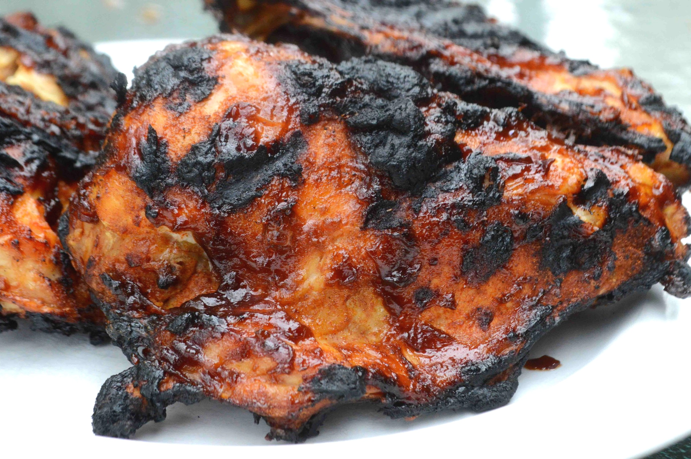 Barbecued+Chicken+with+Homemade+BBQ+sauce