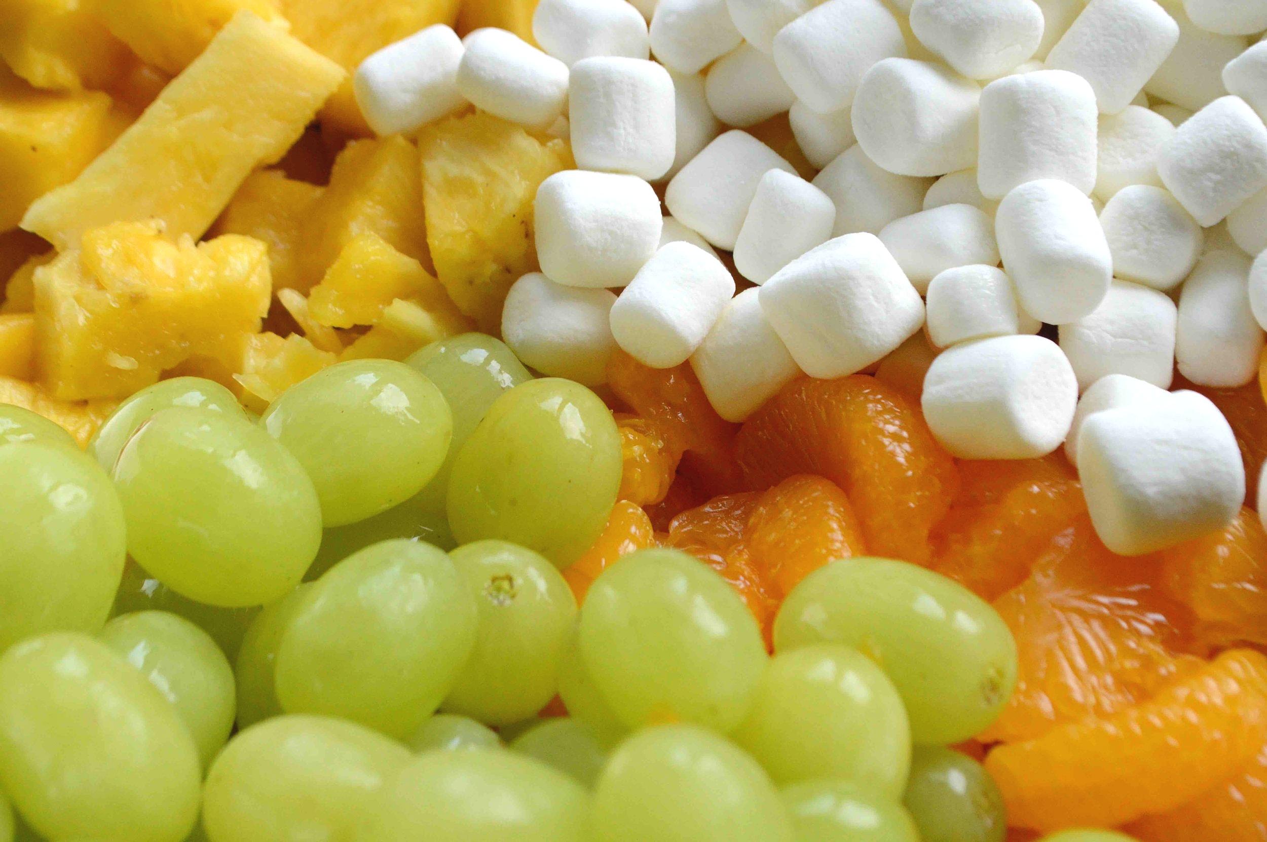 Skinny+Ambrosia+Salad