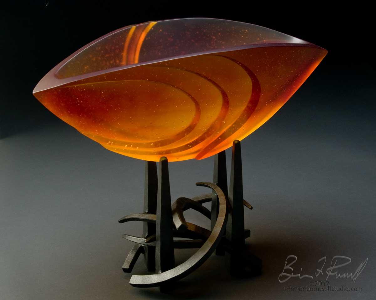 Elliptical 5 Orange