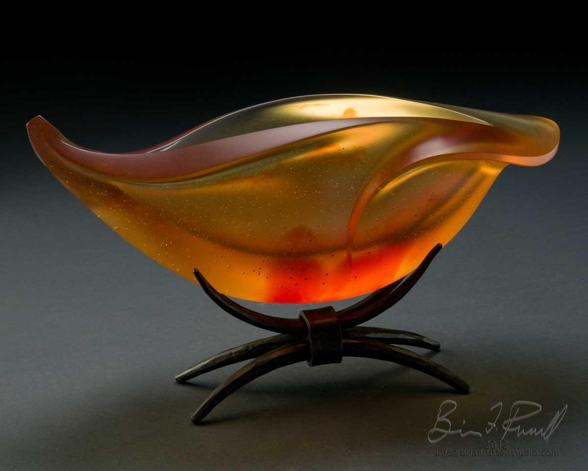 Elliptical Delta Orange
