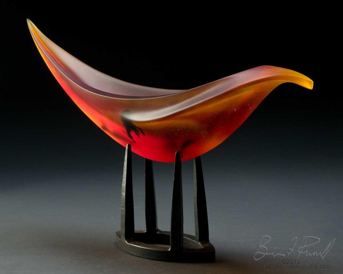 Elliptical Gamma Red-Orange-Black