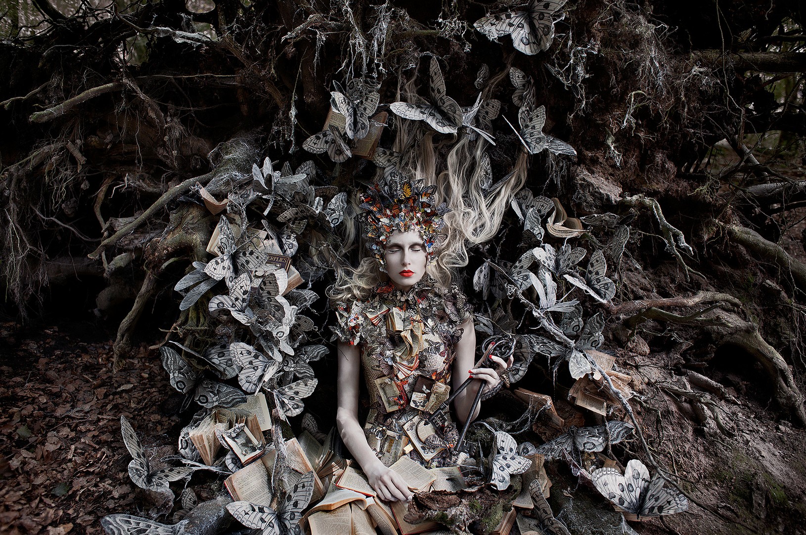 """""""The Ghost Swift"""" by Kirsty Mitchell"""