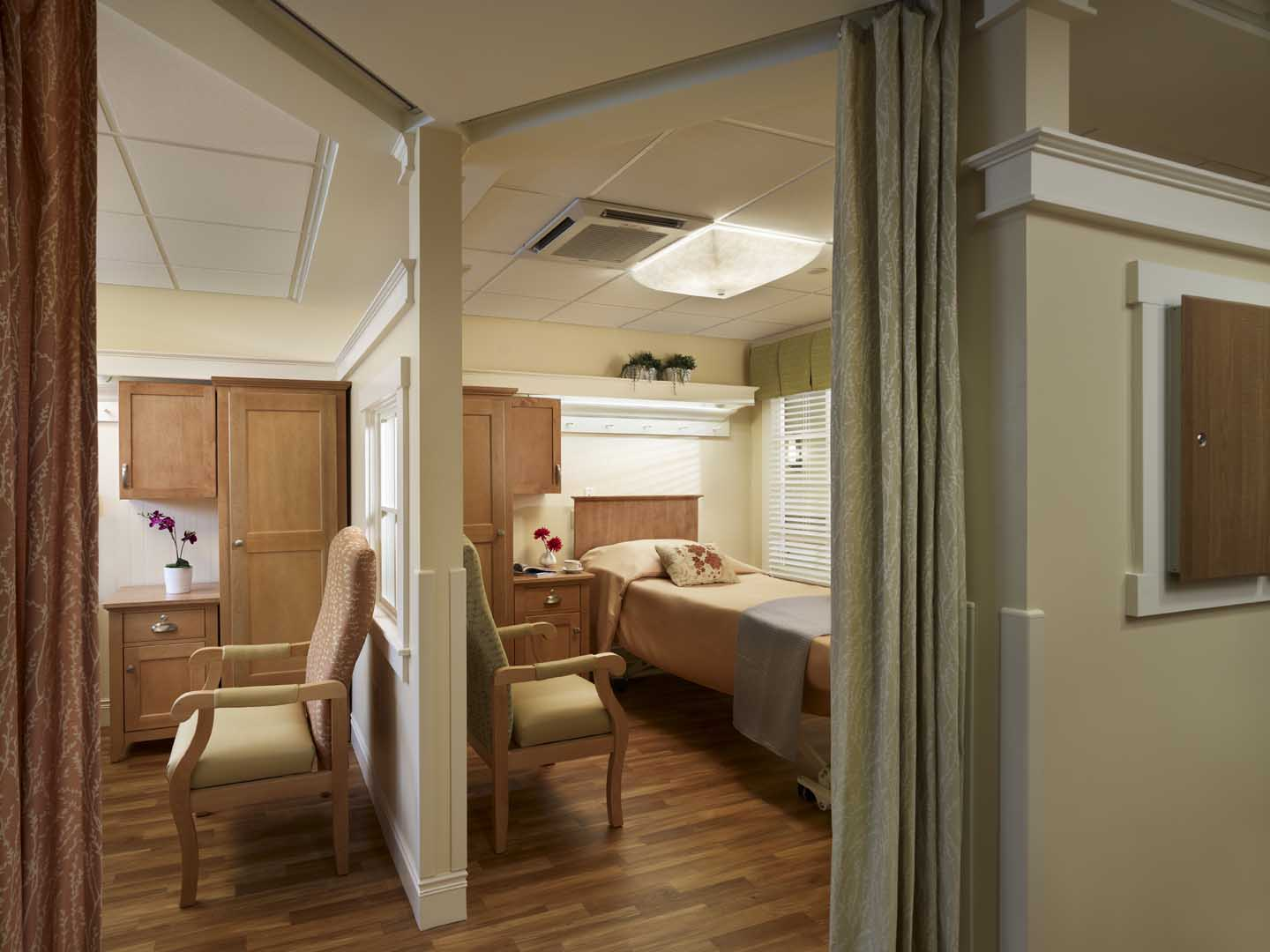 nursing home bedroom