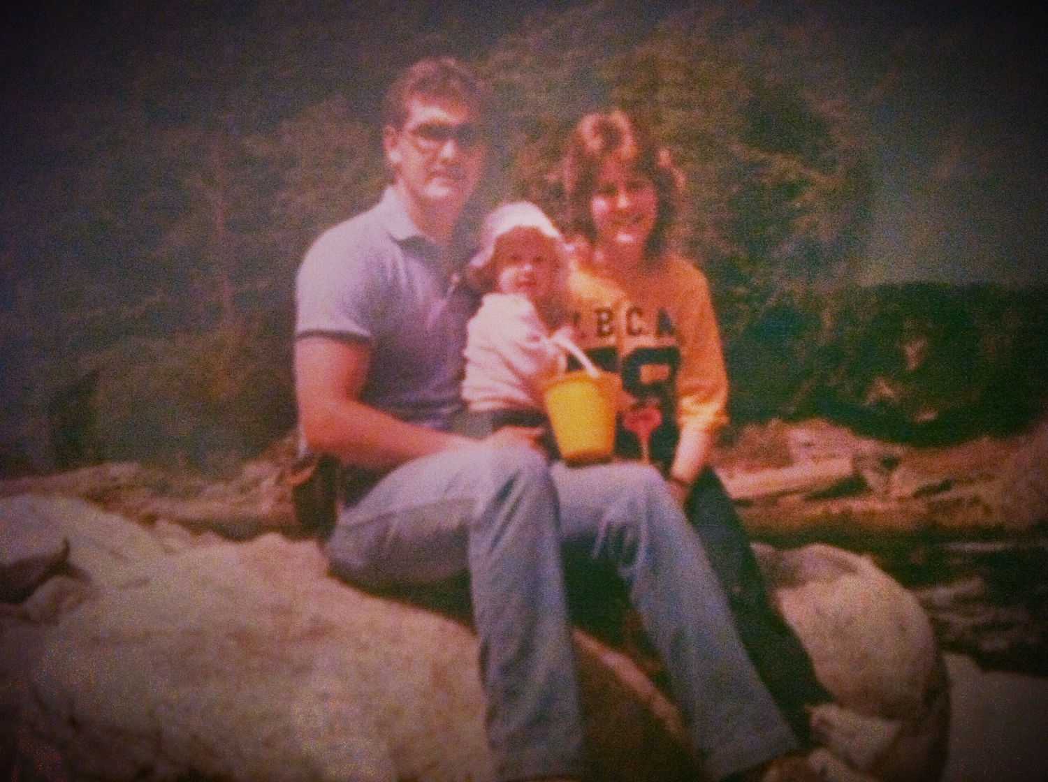 Here i am with my Dad and Mom, Greg and Janet.  I was born on December 16, 1983 in Langhorne, Pennsylvania.