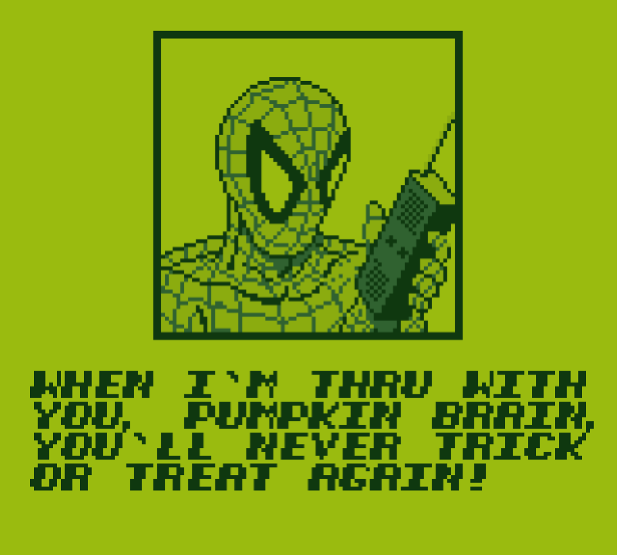Spidey's looking pretty respectable.