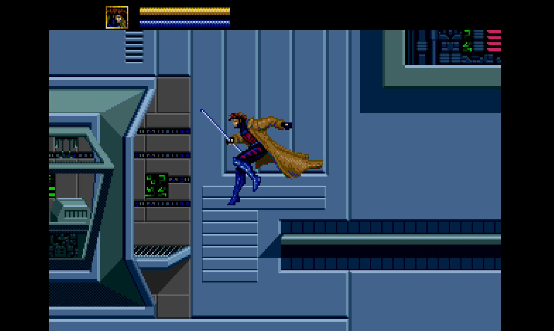 Gambit in the Danger Room
