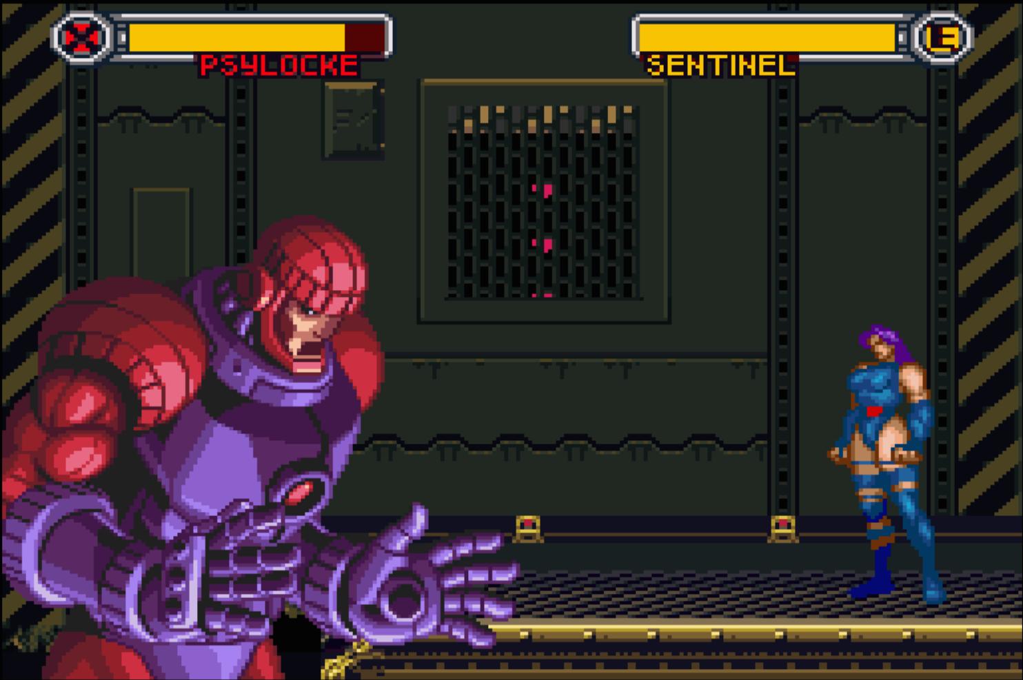 Psylocke and Sentinel
