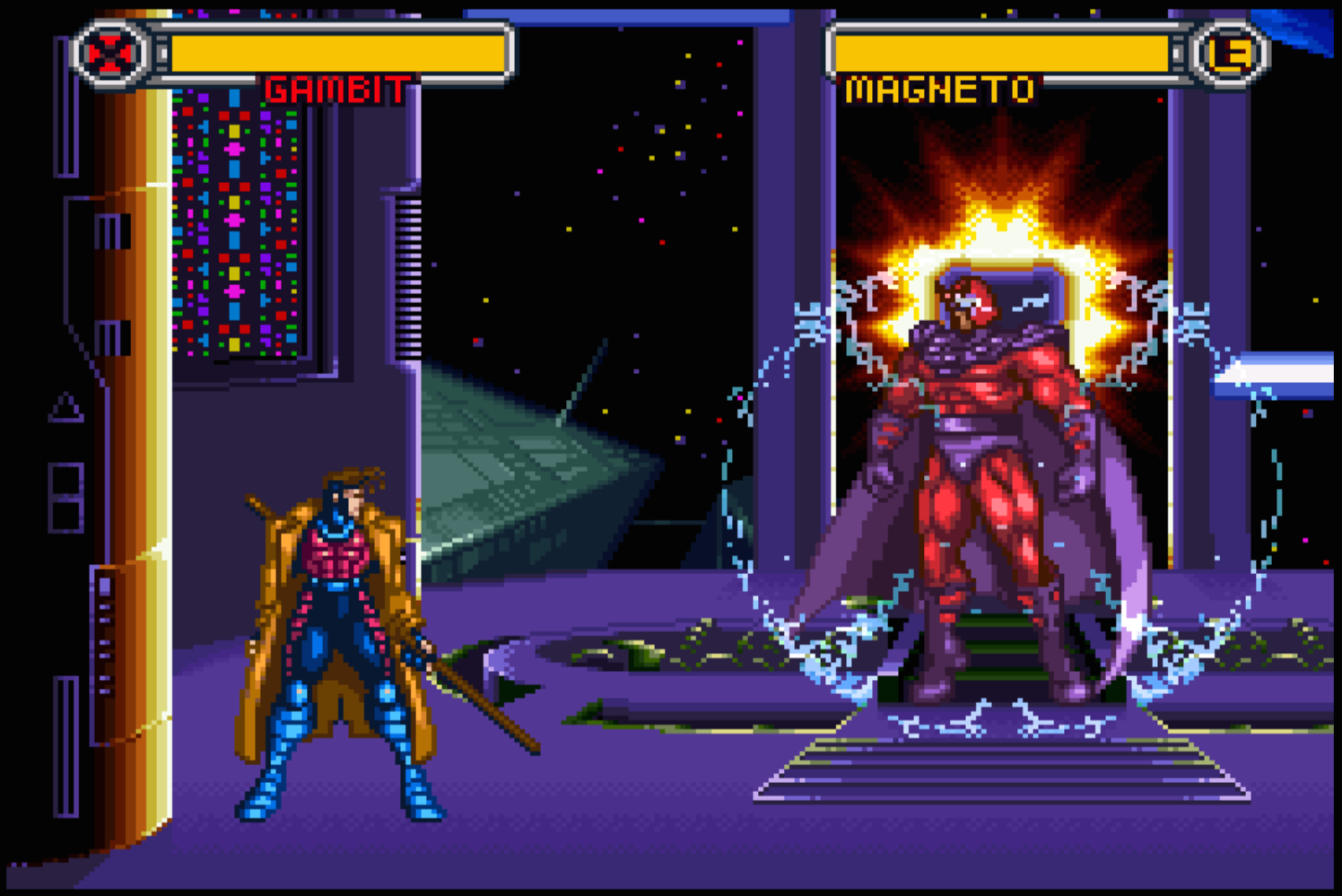 Gambit vs Magneto