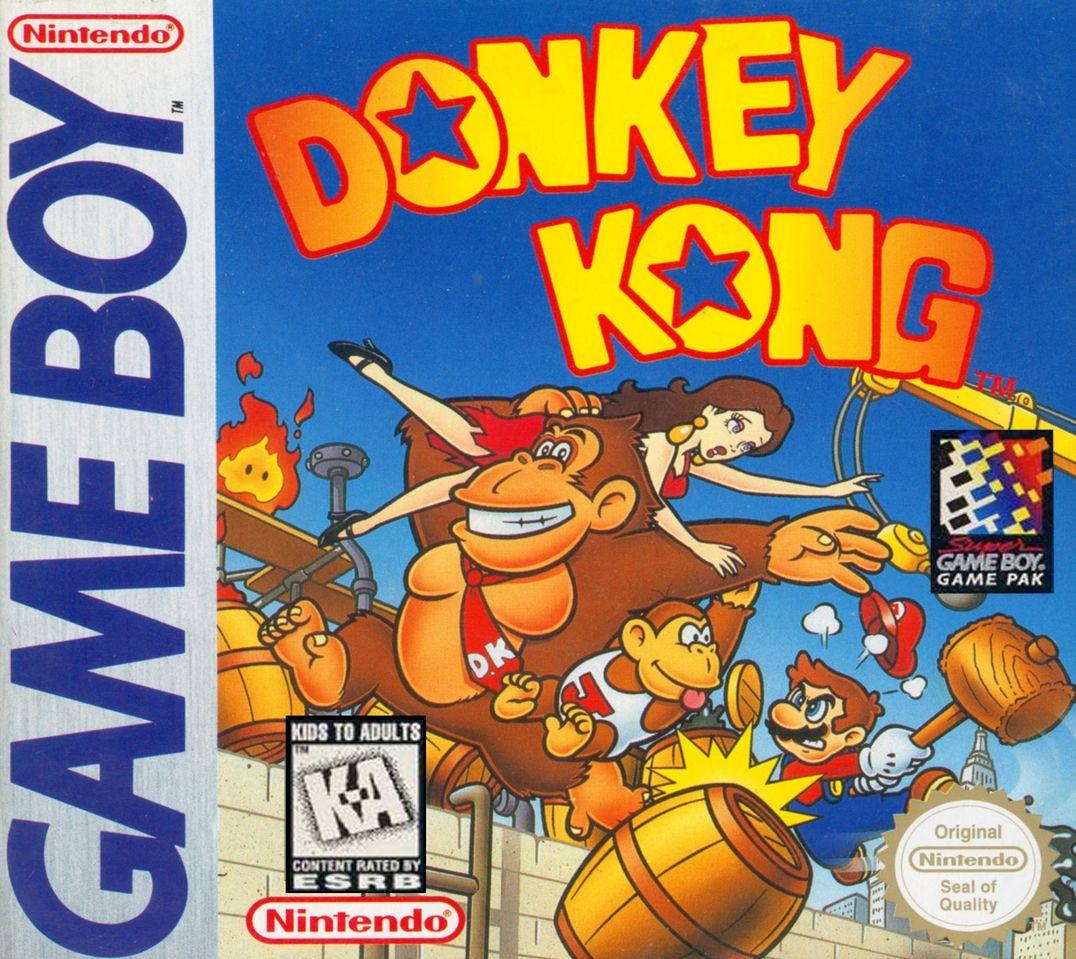 Donkey Kong box art