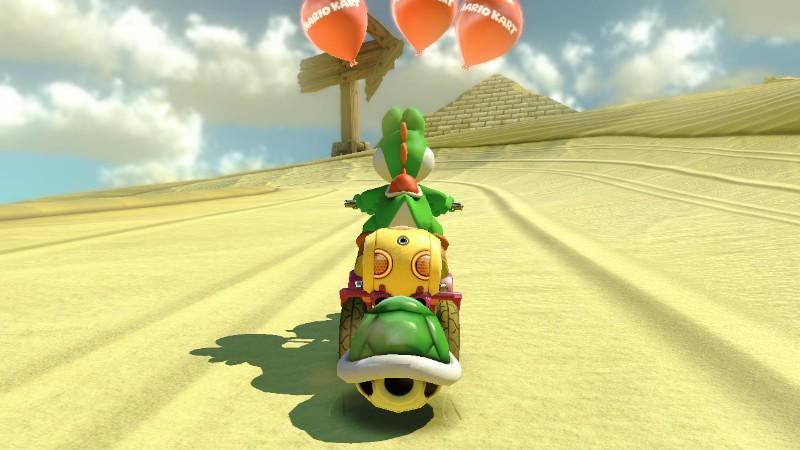 Yoshi Dragging Shell