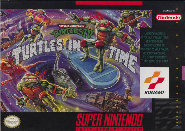 TMNT IV cover