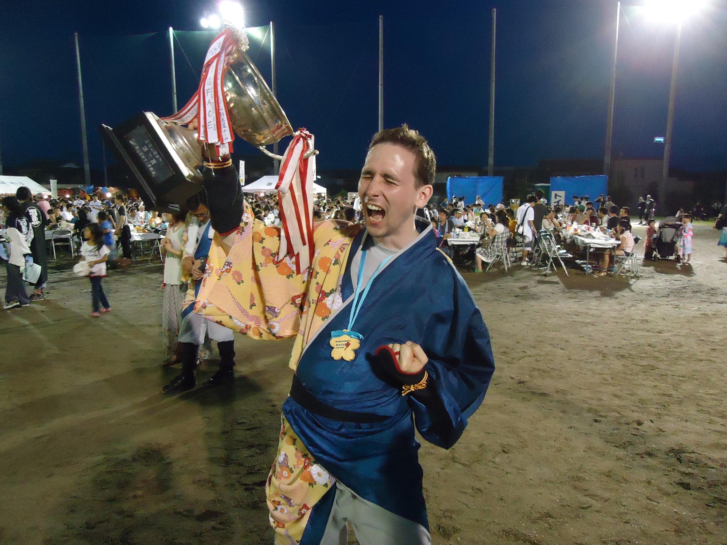 Yosakoi Soran 3rd place
