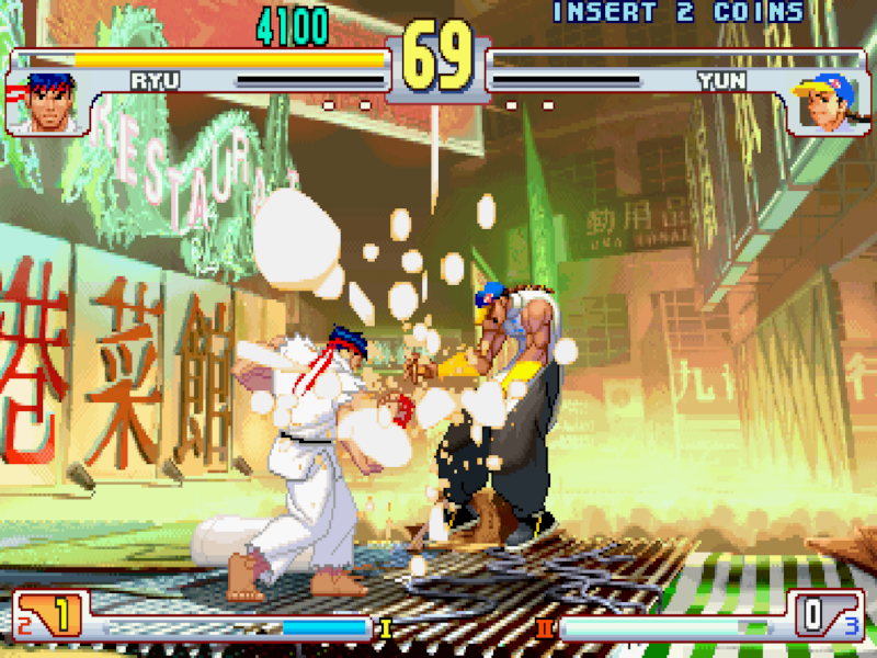 Street Fighter III 3rd Strike: a true masterpiece.