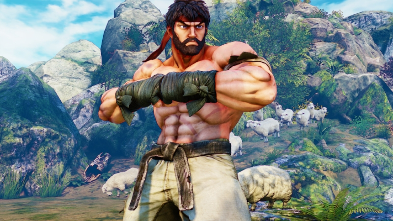 SFV: At least it gave us Hot Ryu.