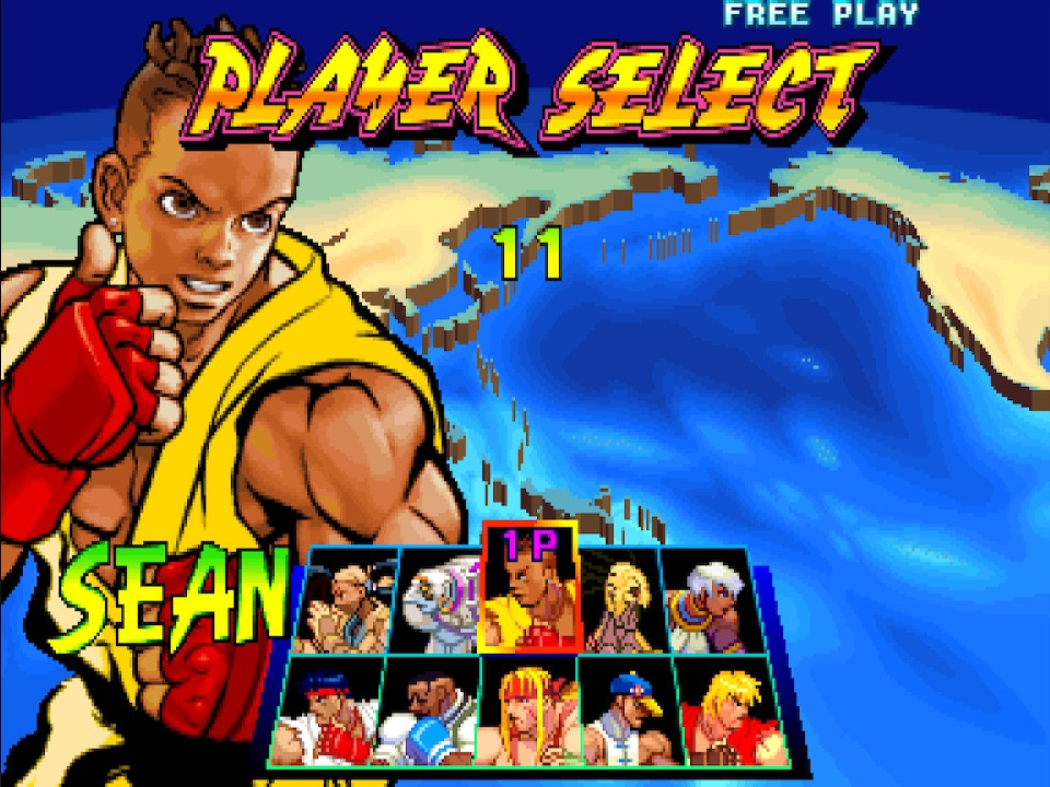 sf3 player select