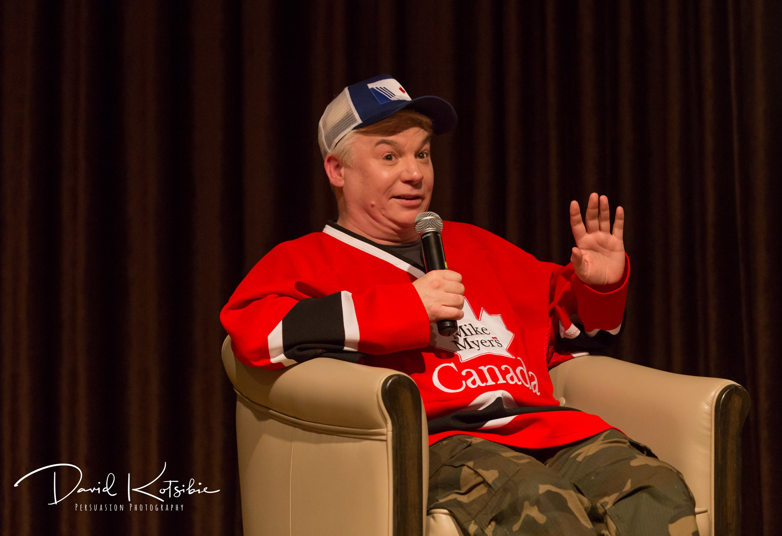 Wordfest - Mike Myers