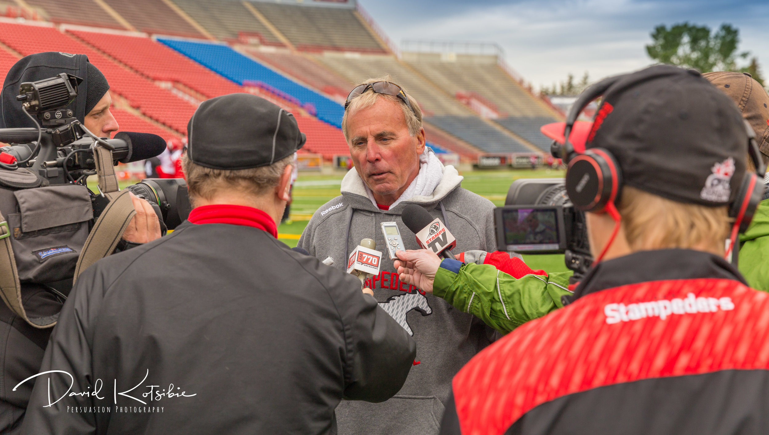 Calgary Stampeders Press Conference