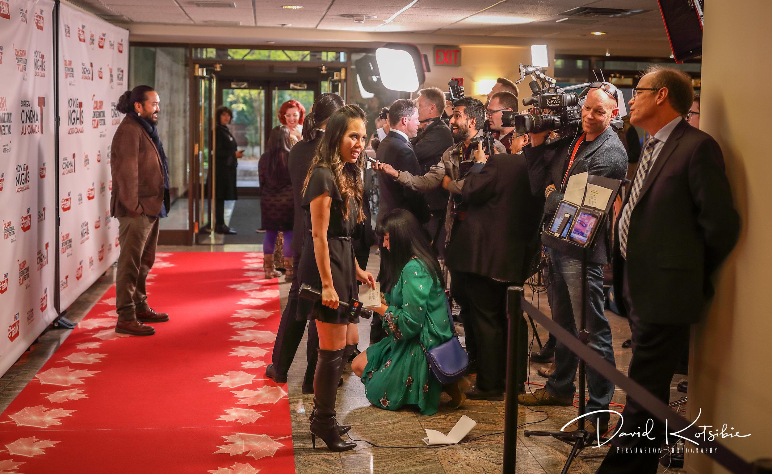 Calgary Intl Film Festival Opening Night Red Carpet