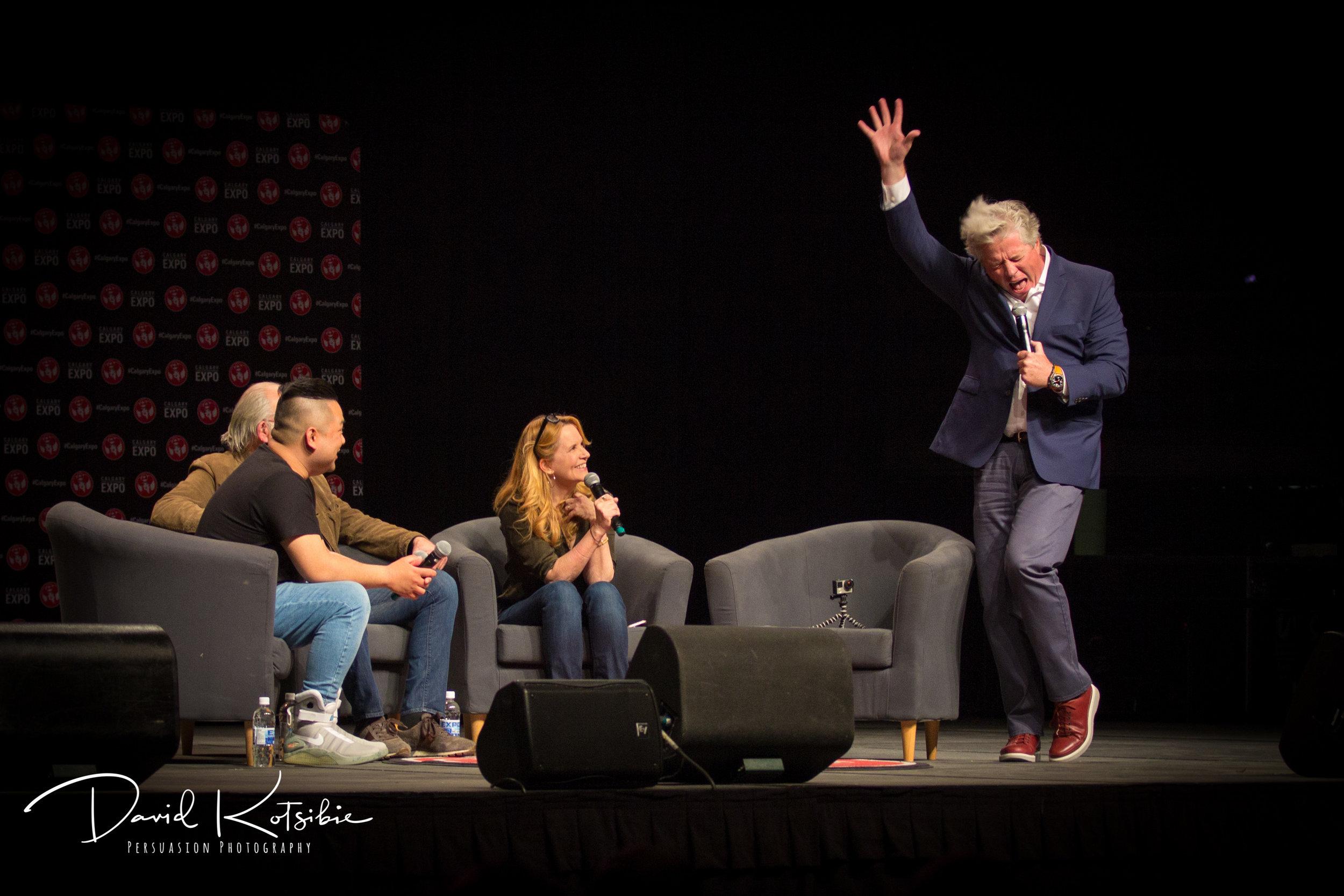 Back to the Future Reunion - Calgary Comic Expo