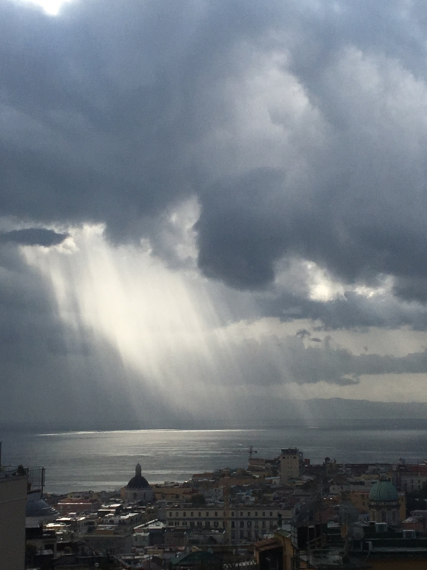 The Clouds Parted & I Believe I Heard Angels Singing, Napoli