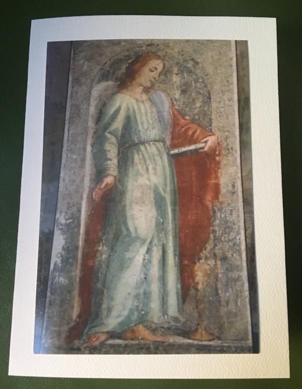Angel at the Villa