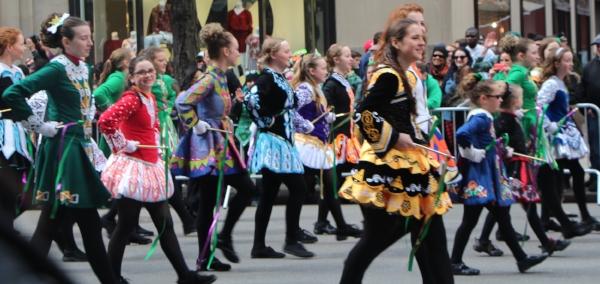 NYC St. Patrick's Day Parade, 2015