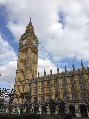 big ben inside parliament