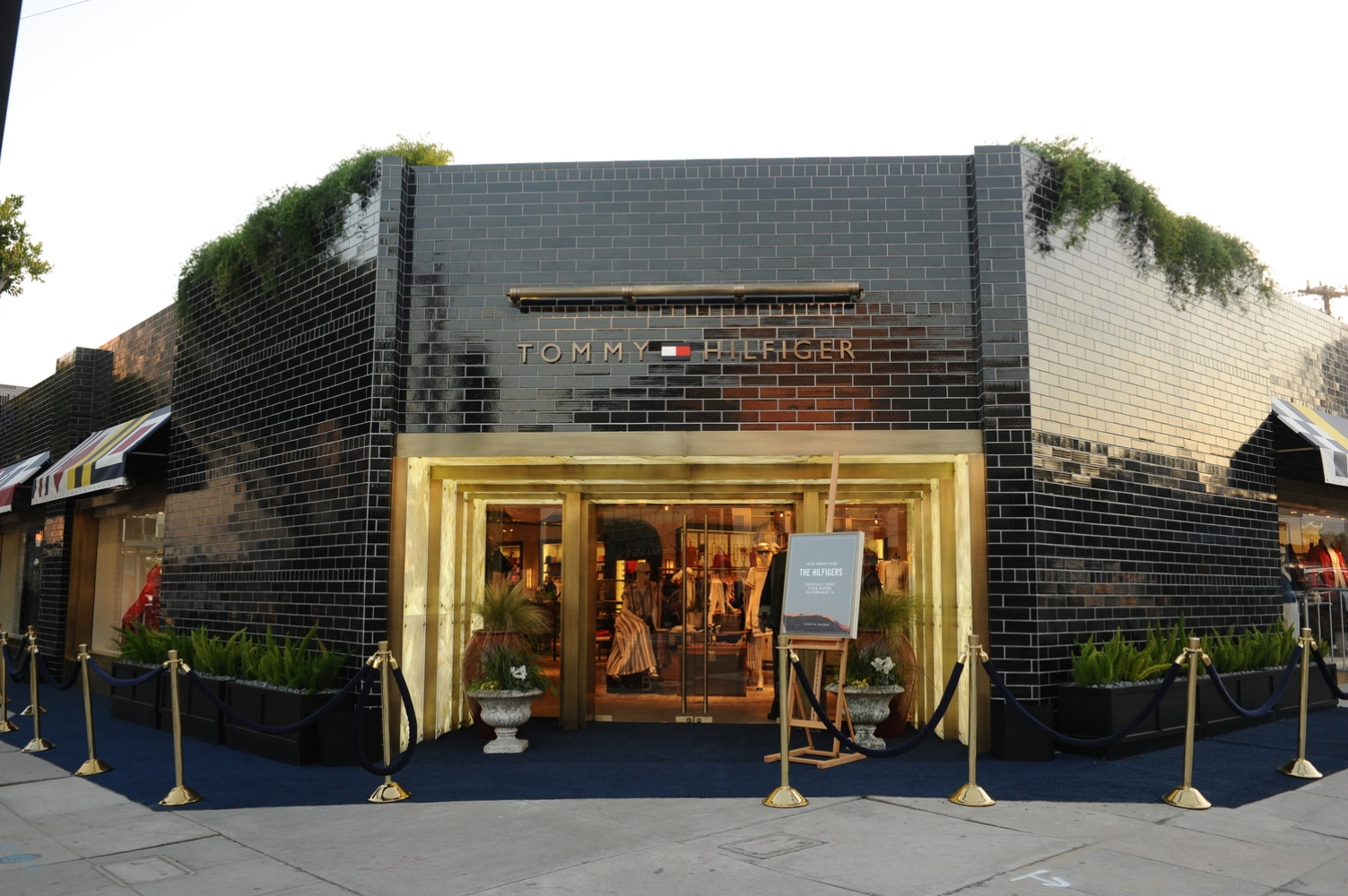 Tommy Hilfiger West Hollywood Store Opening