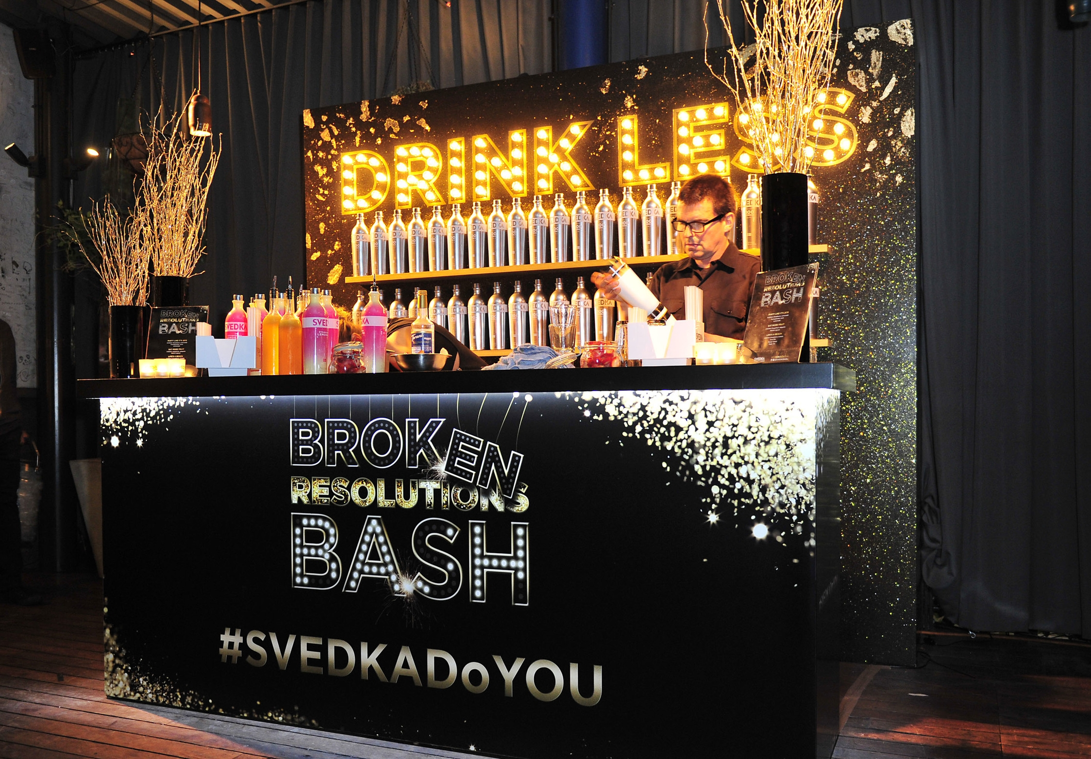 Svedka Vodka's Annual Winter Event