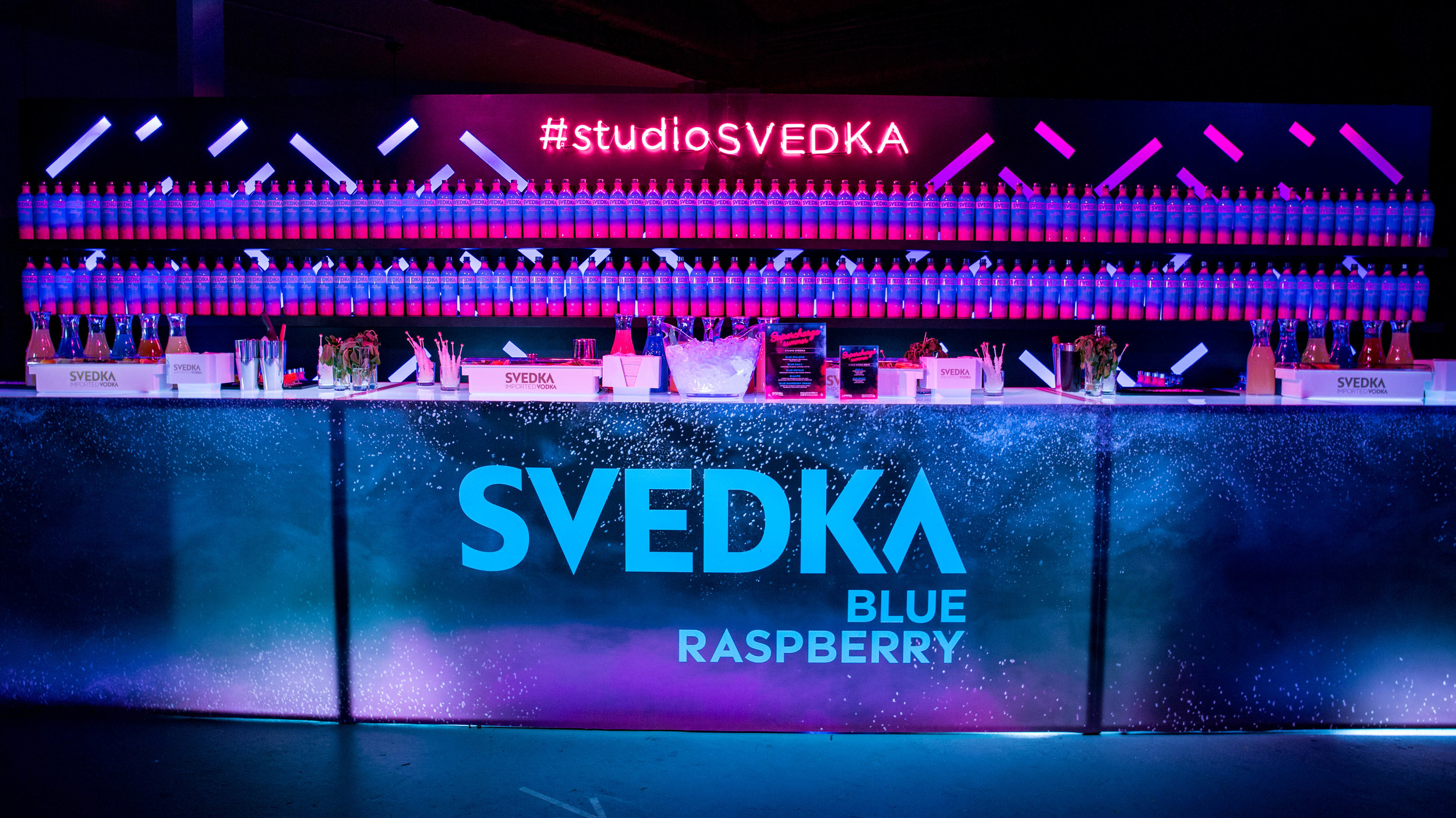 SVEDKA Blue Raspberry Launch