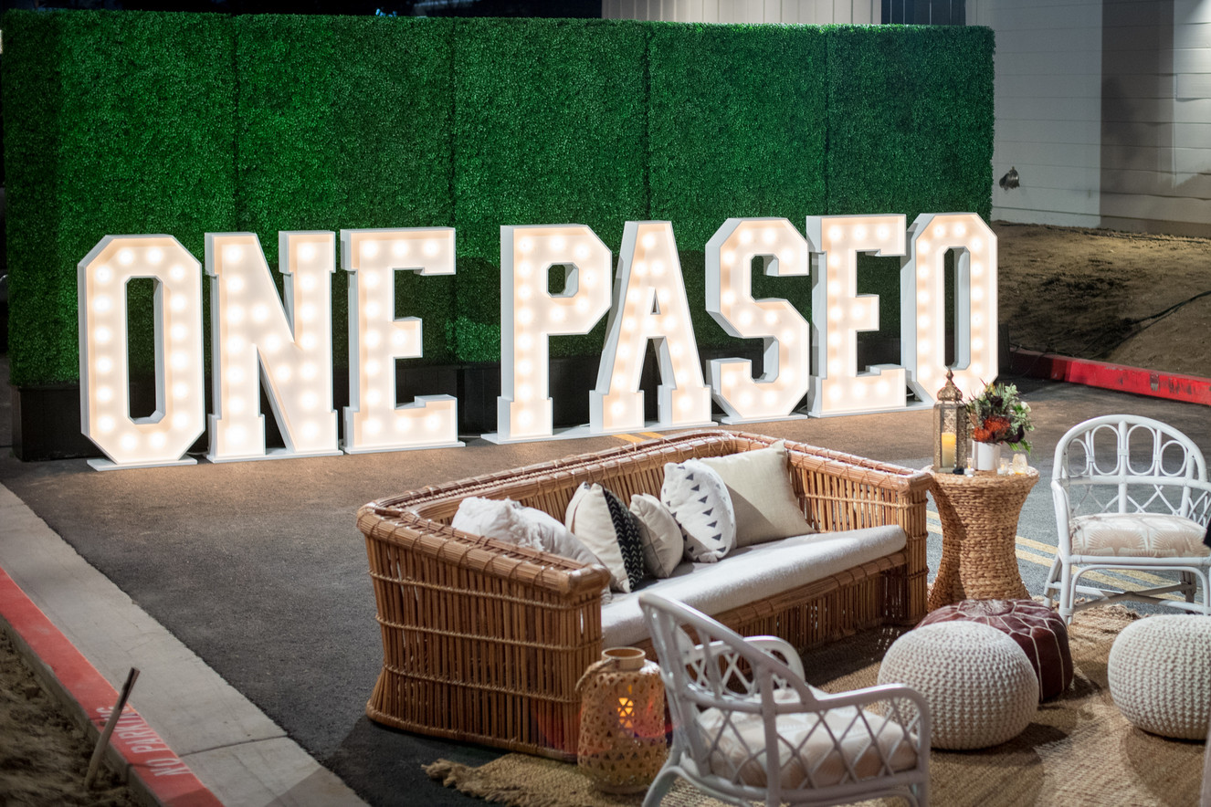 One Paseo VIP Opening Celebration