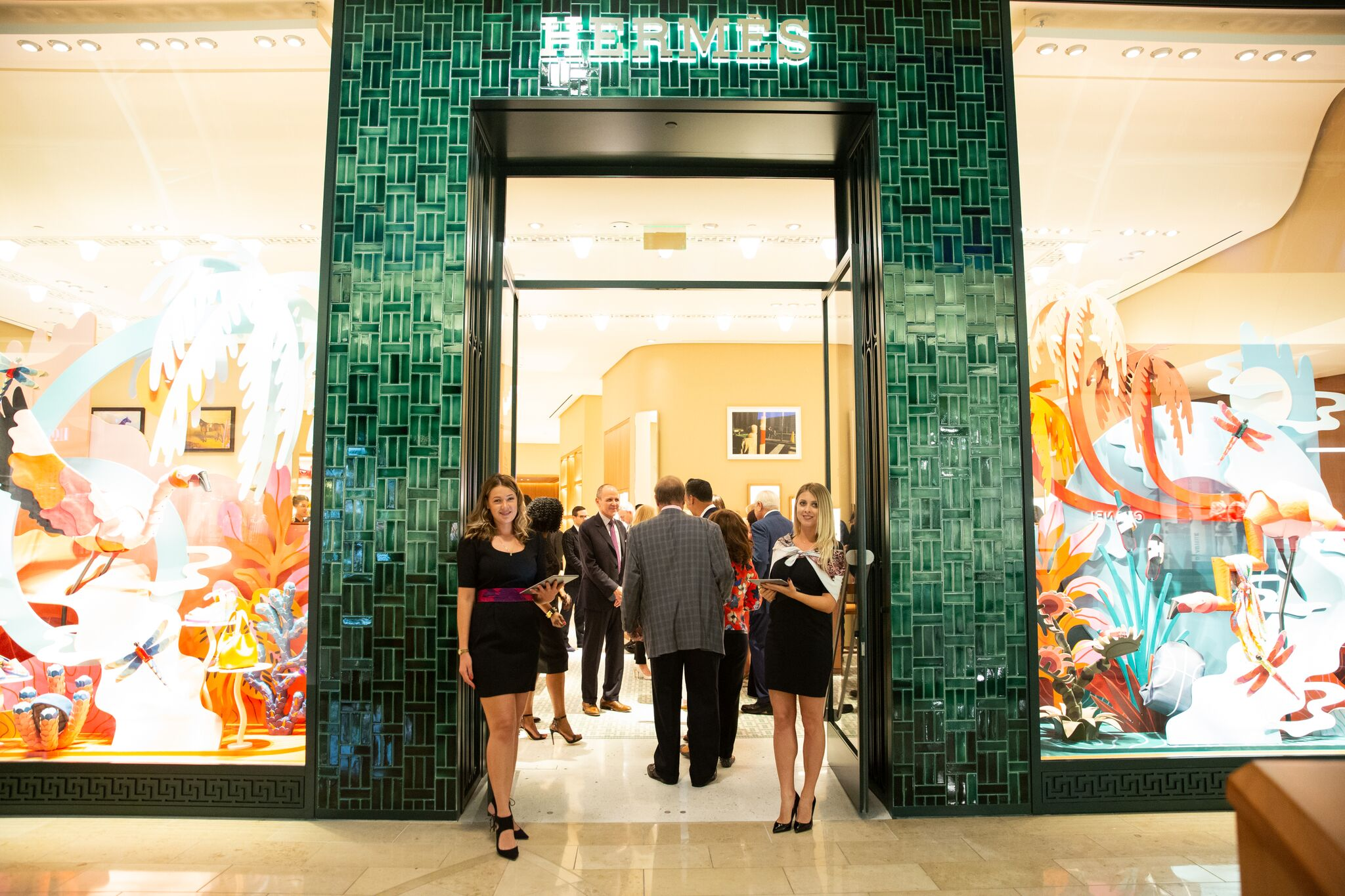 Hermés Orlando Store Opening